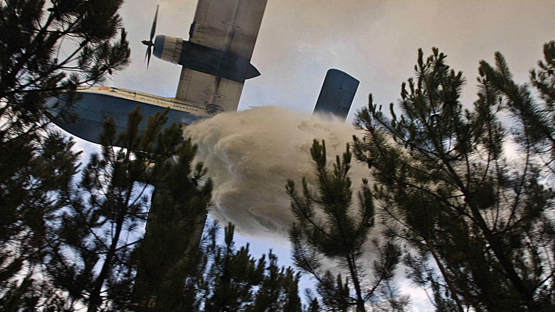 Itália envia dois aviões para ajudar a combater incêndios em Portugal