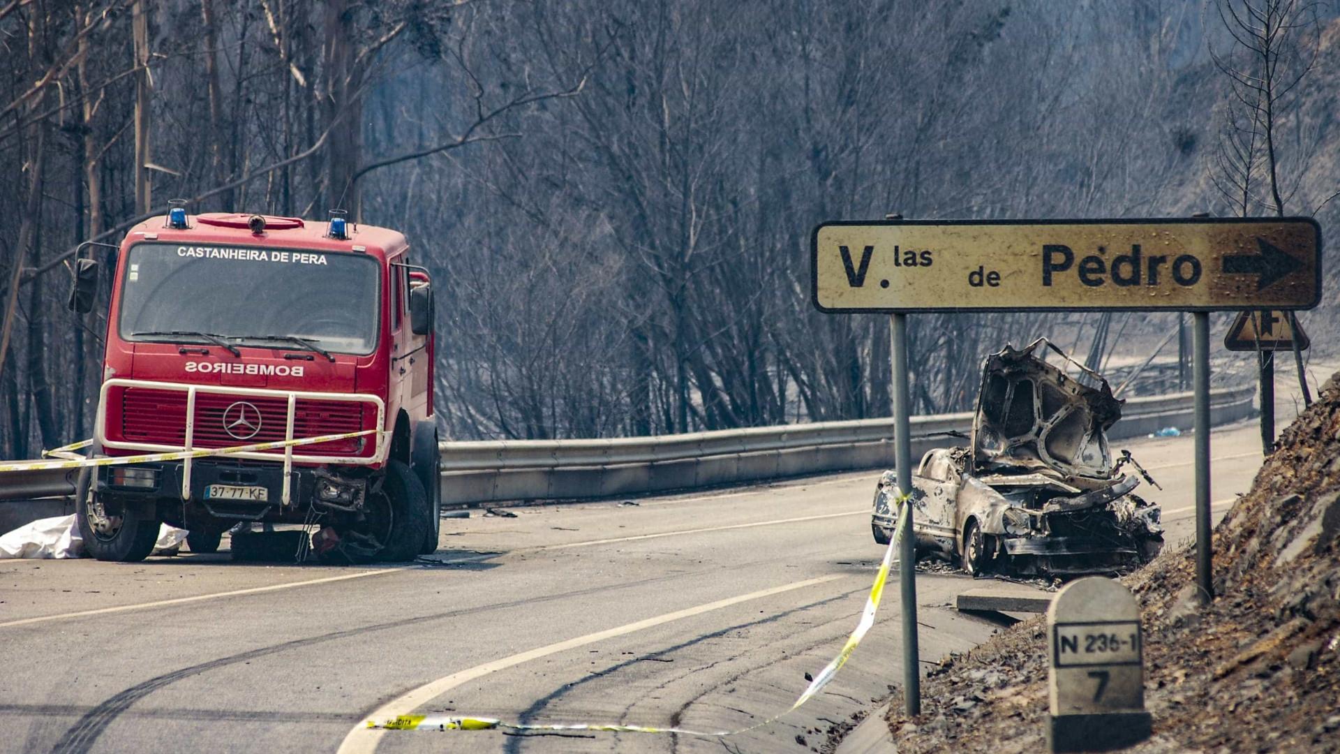80 bombeiros espanhóis chegam hoje a Góis — Incêndios