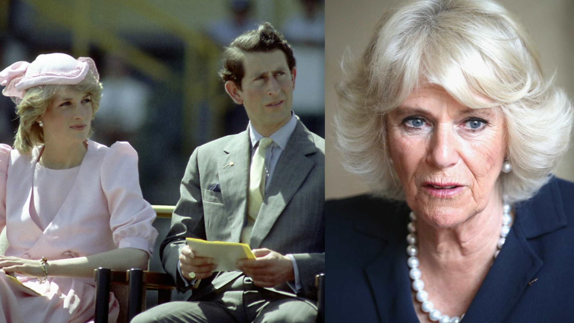 Eis o momento em que Diana confrontou Camilla com traição