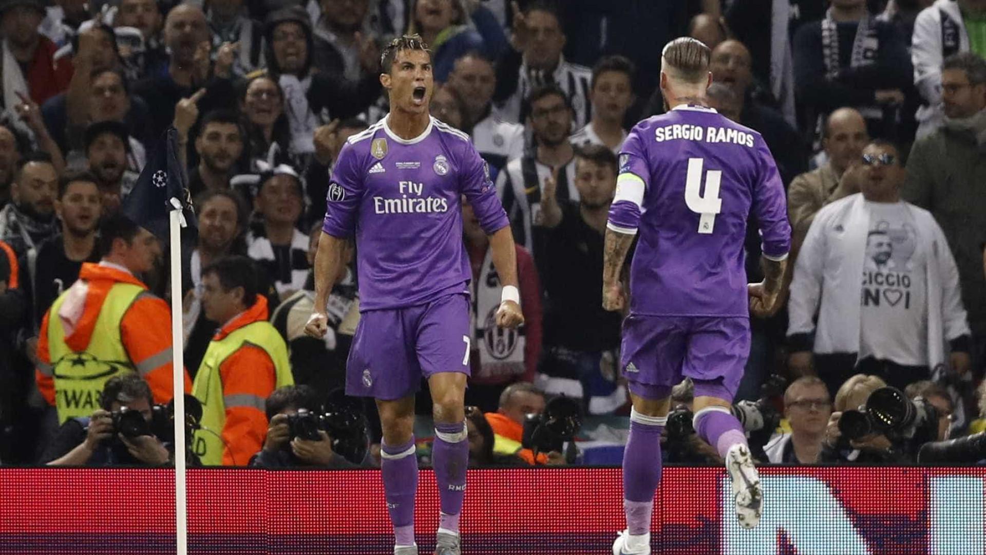 Além de Zidane, houve outro elemento do Real a ligar a Ronaldo
