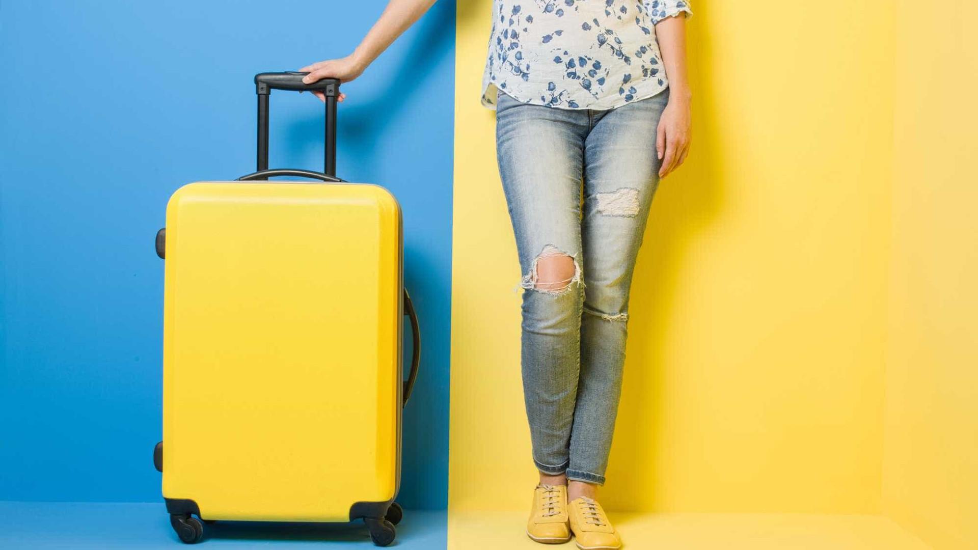 Dois fatores a ter em conta na hora de comprar uma mala de viagem