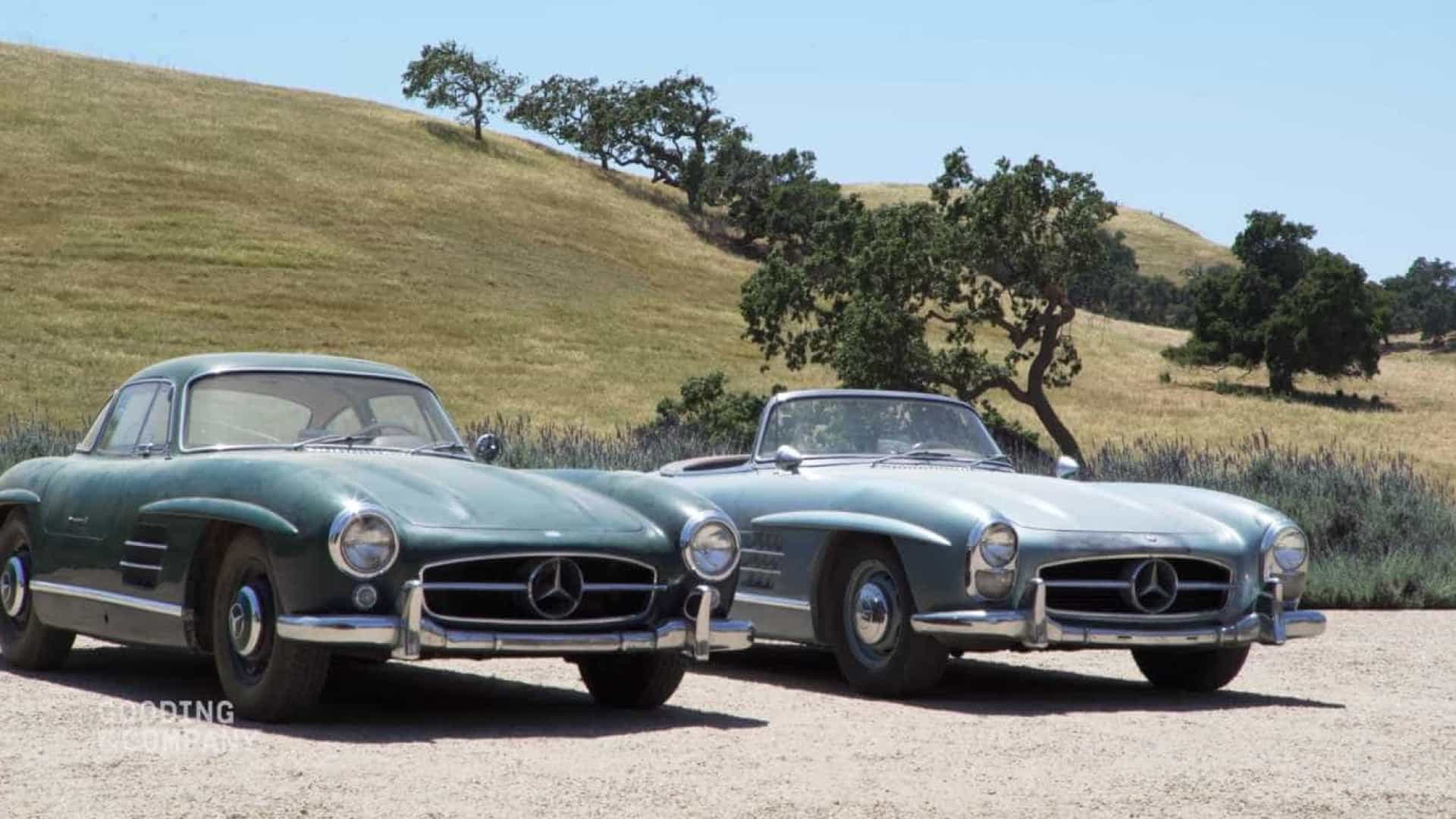 Conheça os Mercedes-Benz 300SL 'irmãos' que prometem quebrar recordes