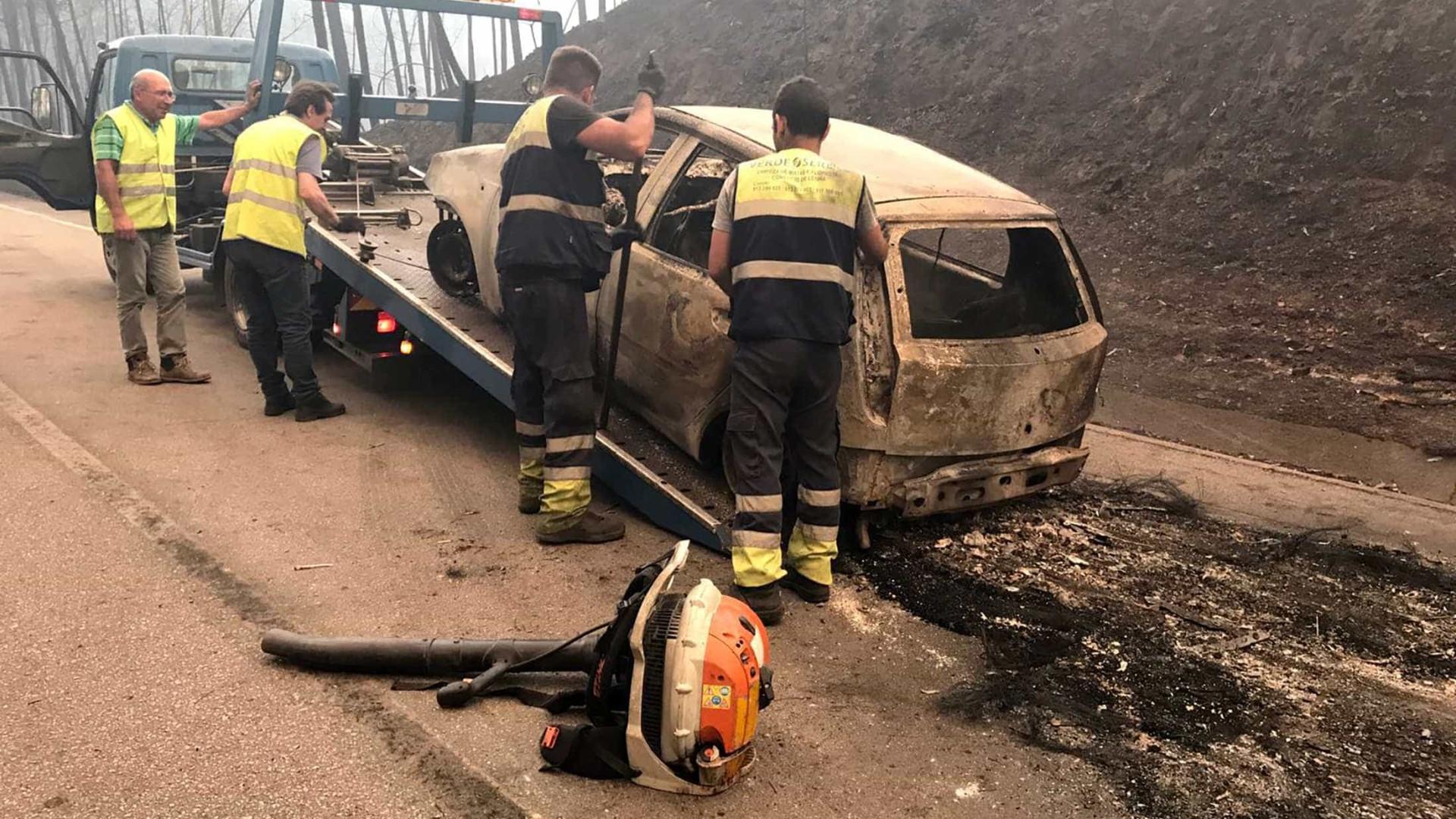 Já foram identificadas 24 das 62 vítimas do incêndio em Pedrógão Grande