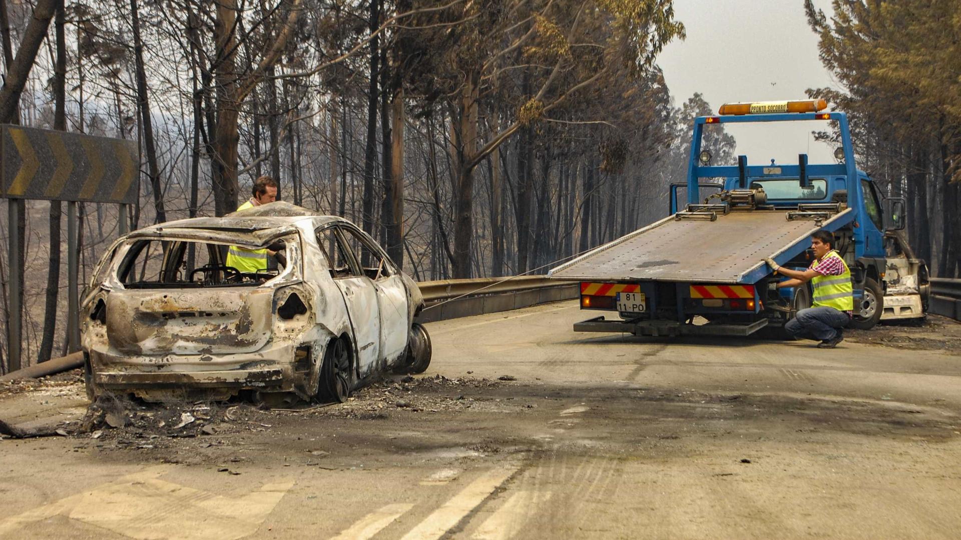Proteção Civil acredita que incêndio será dominado no espaço de 24 horas