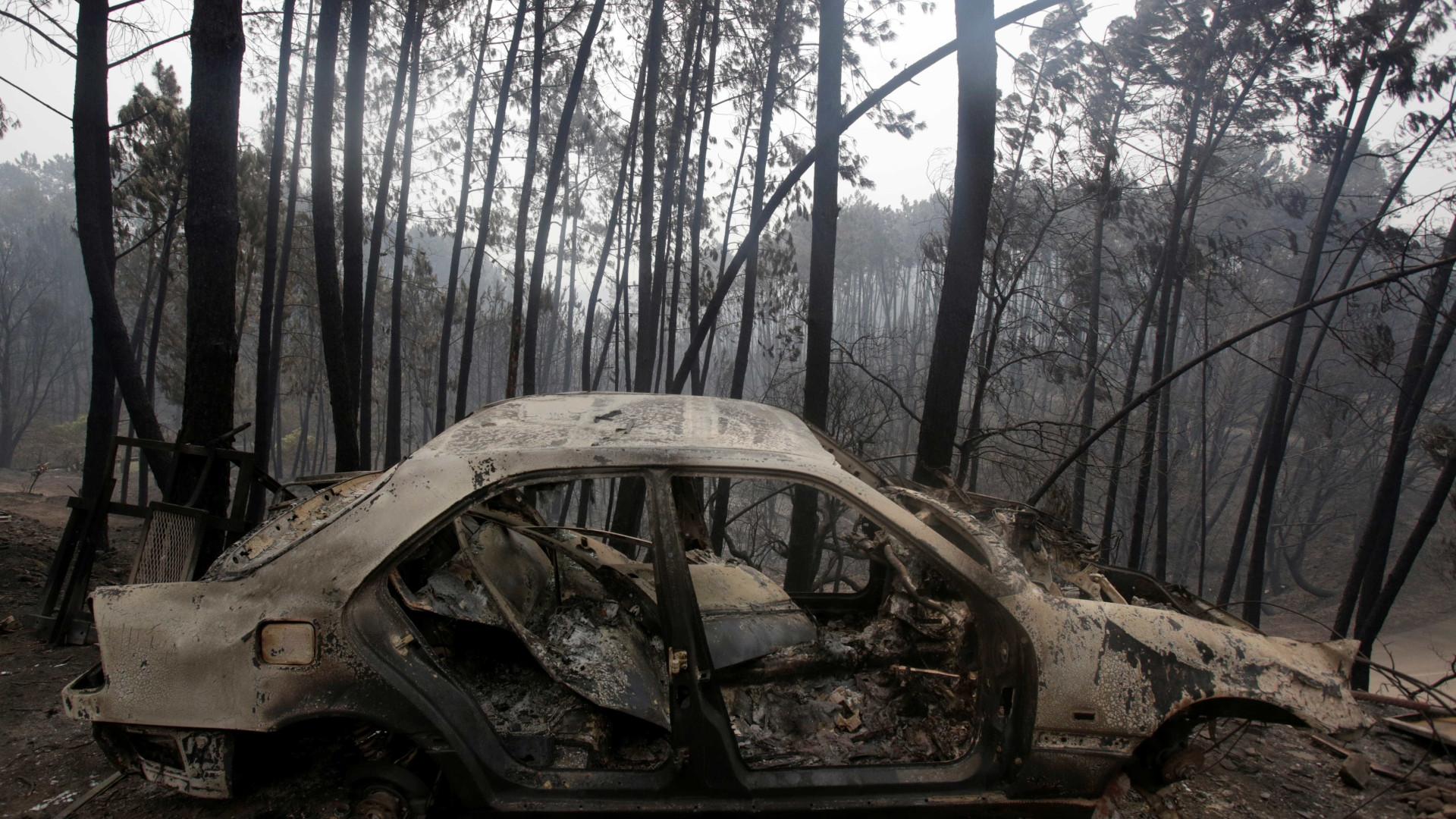 IPMA afasta queda de raios como causa do fogo de Pedrógão Grande