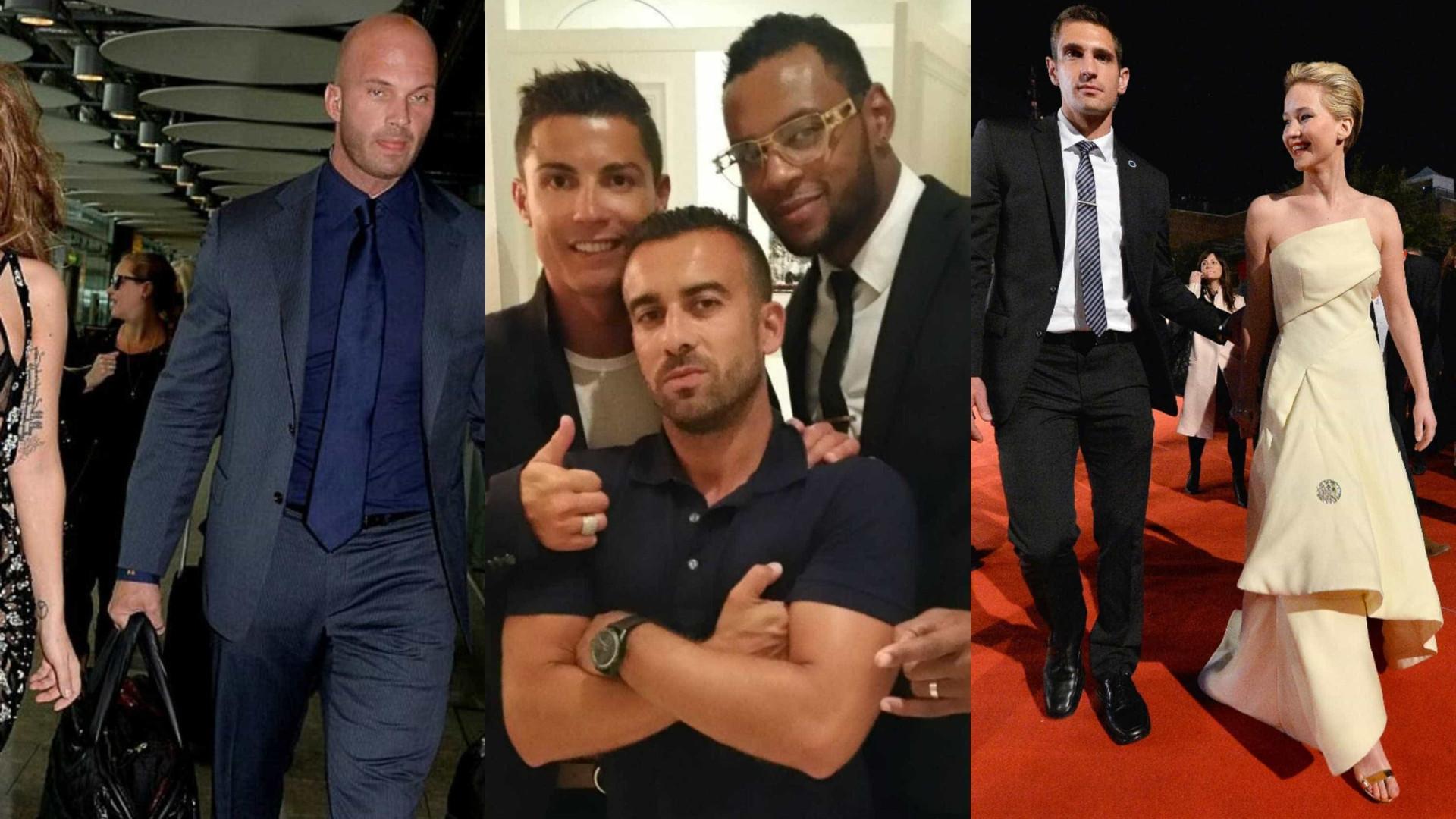 A vida luxuosa dos guarda-costas das celebridades