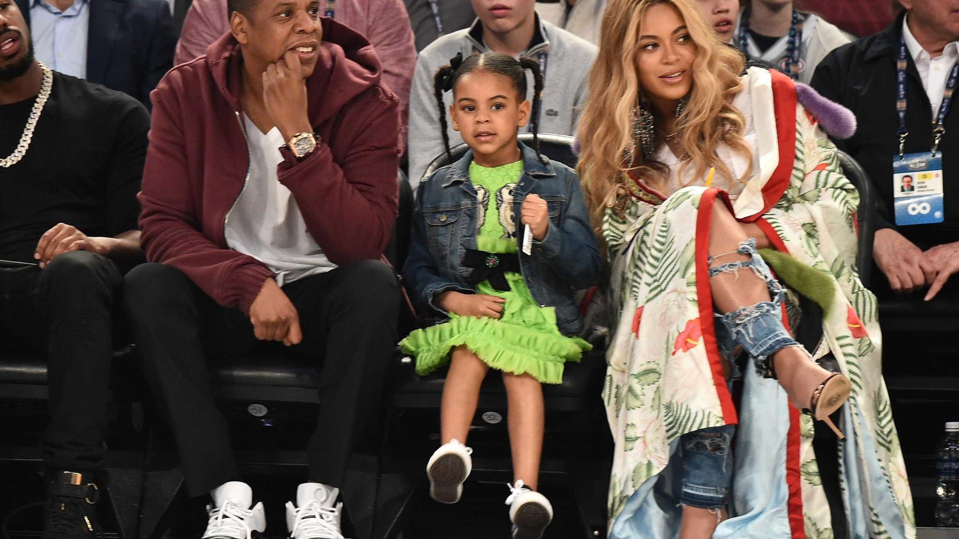 Nomes dos gêmeos de Beyoncé são revelados por site