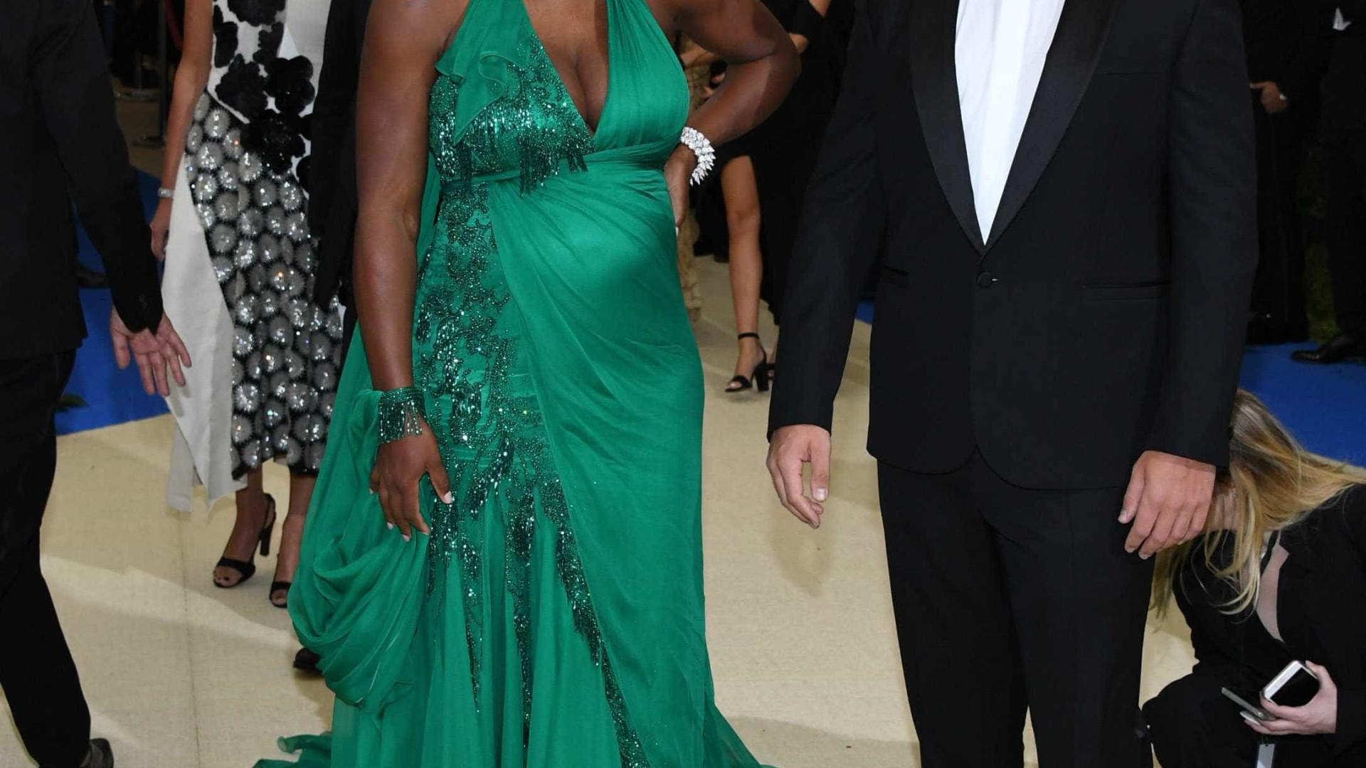 Serena Williams: Não sabe o sexo do bebé mas acha que é uma menina
