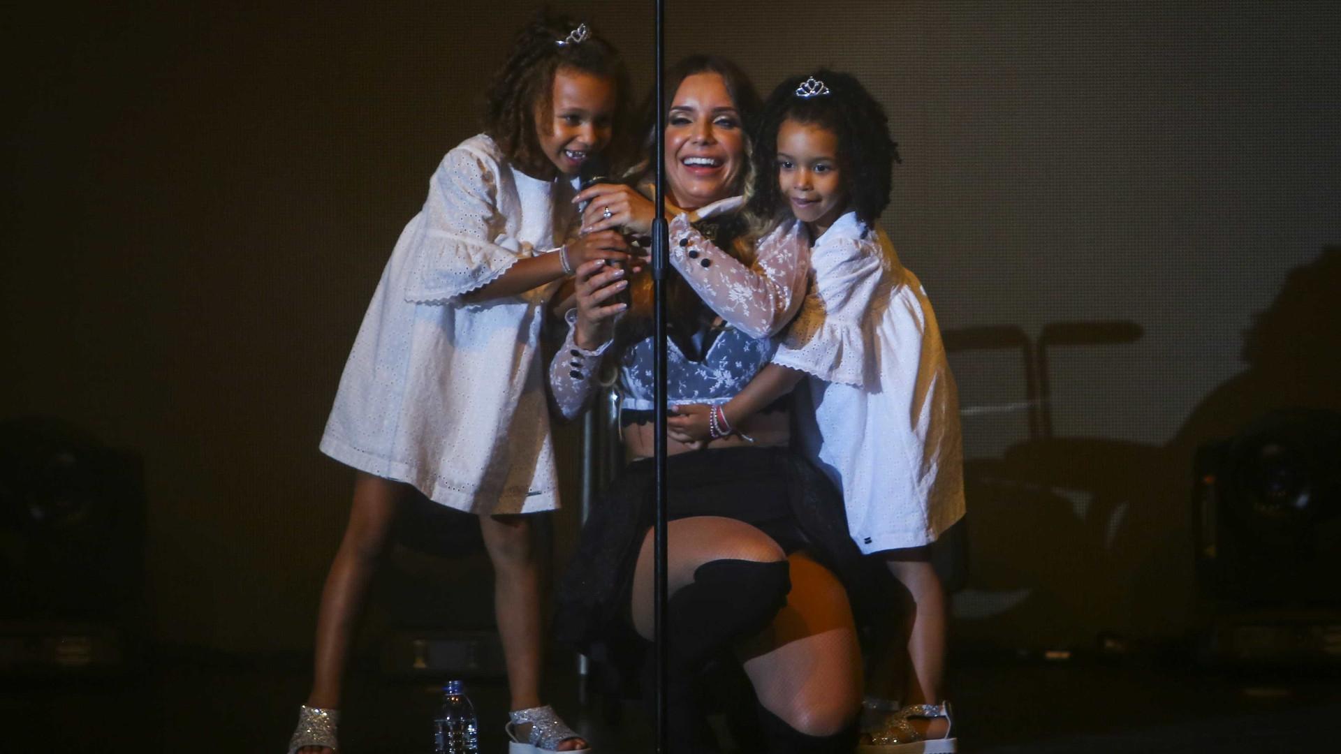 Luciana Abreu proporciona dia especial à filha mais velha