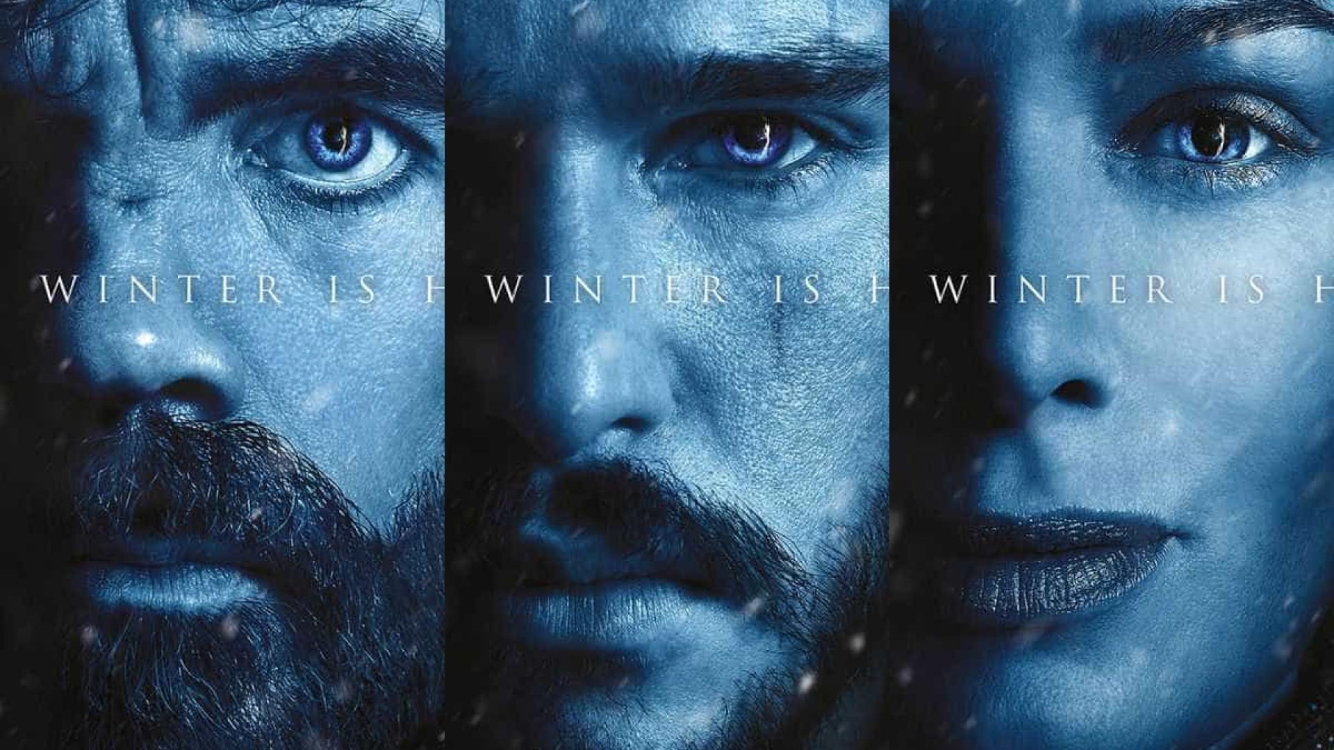 O inverno chegou. Divulgados novos cartazes de 'Game of Thrones'
