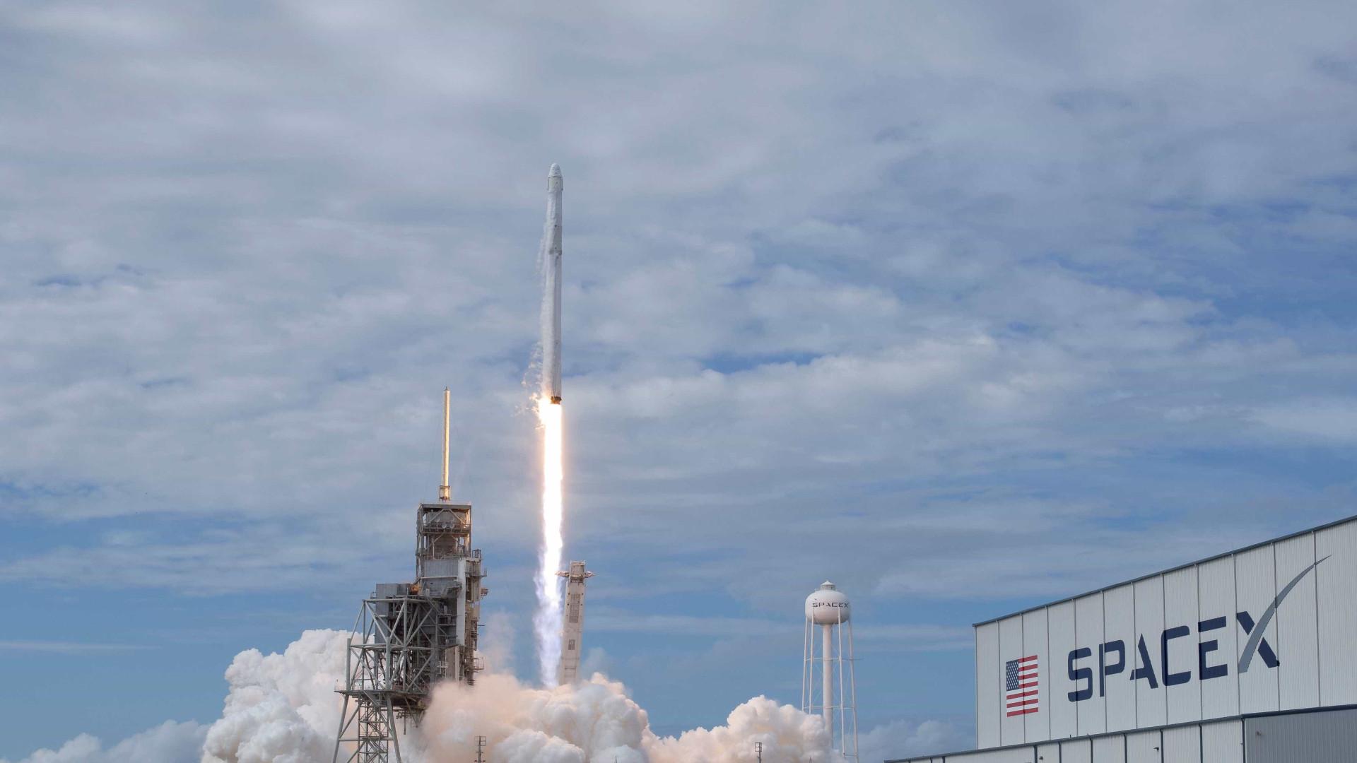 Animação mostra como será o lançamento do primeiro Falcon Heavy da SpaceX