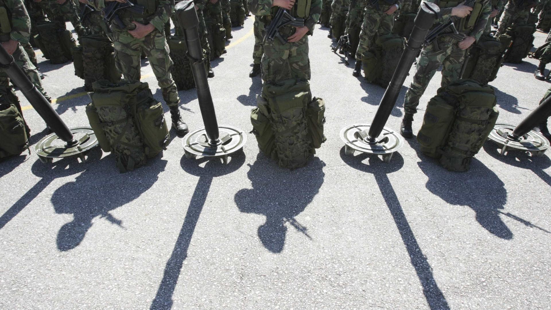Exército abriu processos disciplinares após furto dos paióis de Tancos