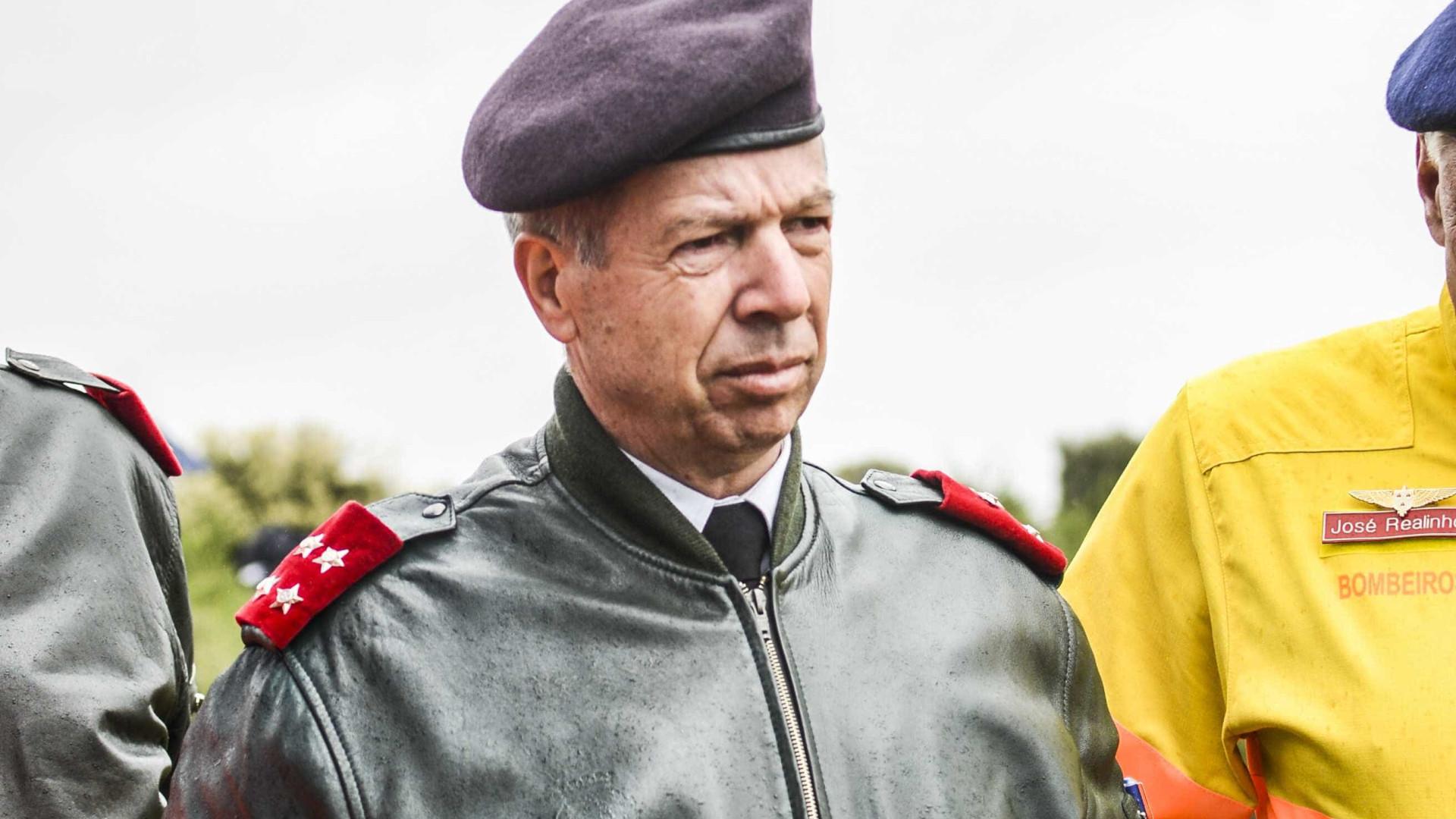 Rovisco Duarte assume responsabilidade do Exército no roubo de Tancos