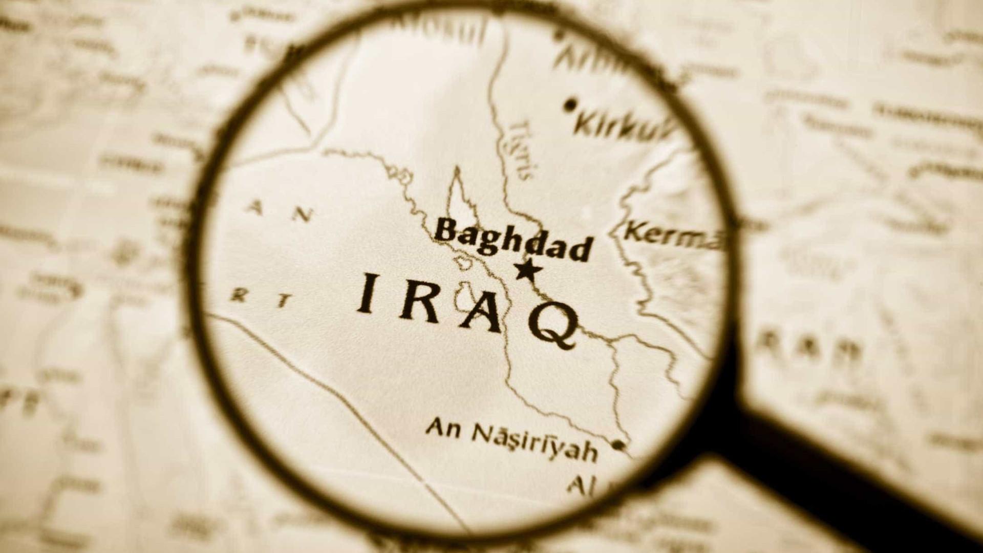 Iraque liberta cidade de fronteira com a Síria