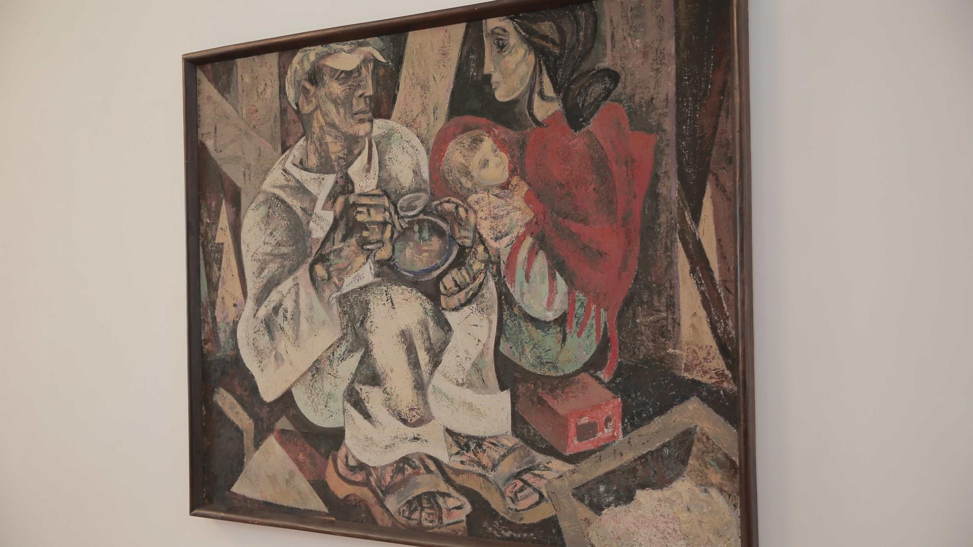 De Foz Côa a Lisboa, a obra de Júlio Pomar está exposta ao público