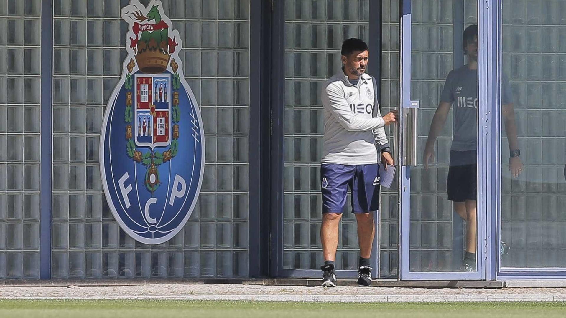 FC Porto prepara receção ao Sp. Braga com duas baixas