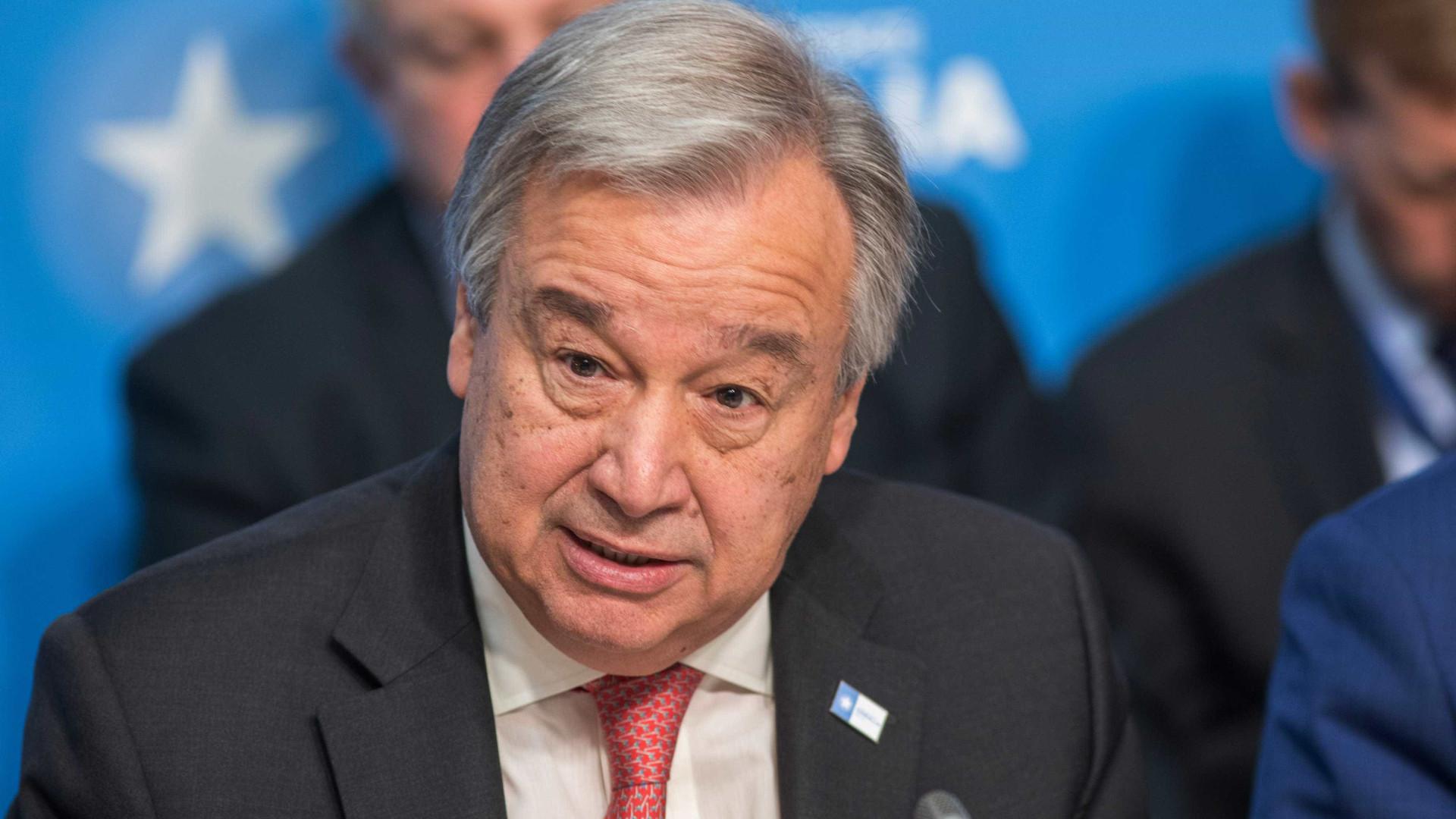 """Guterres considera """"inaceitável"""" uso de agente neurotóxico"""