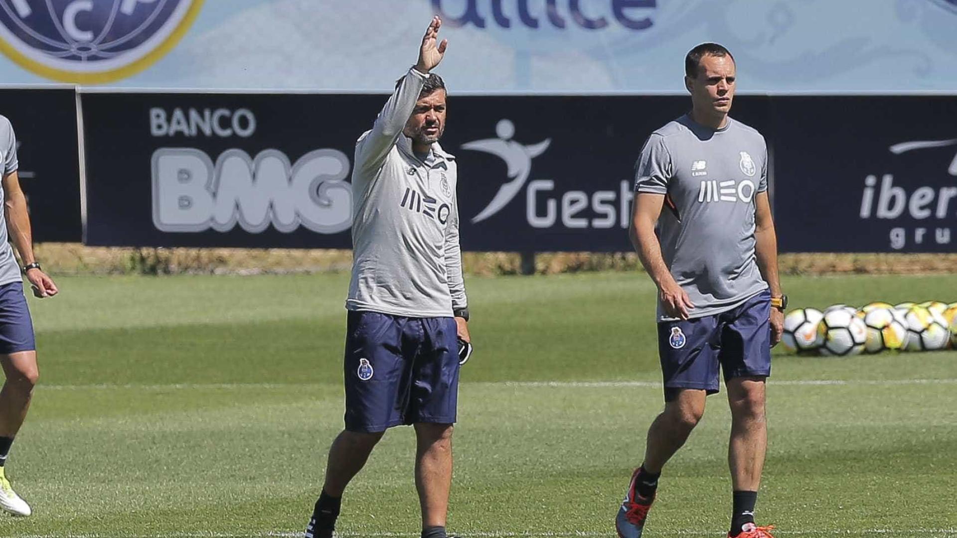FC Porto inicia trabalhos com 19 jogadores