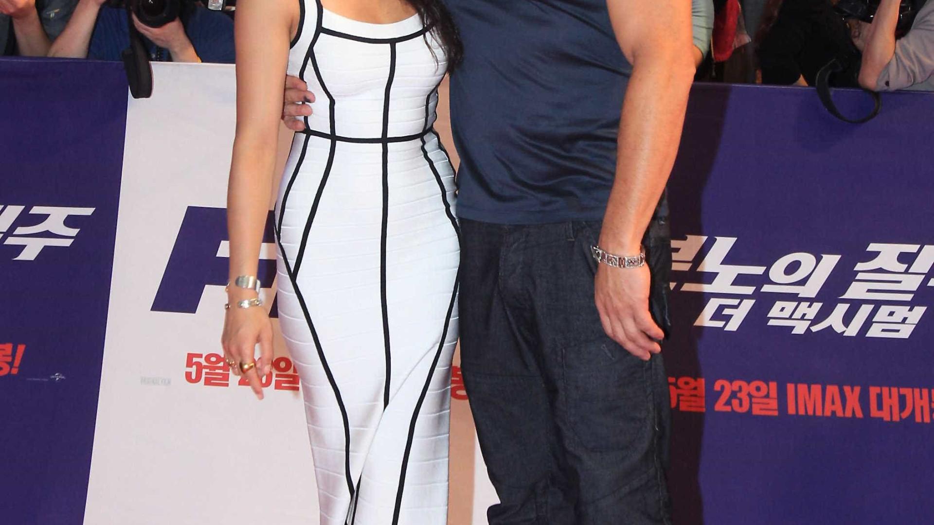 Michelle Rodriguez agradece Vin Diesel: 'Você é um apoiador das mulheres fortes'