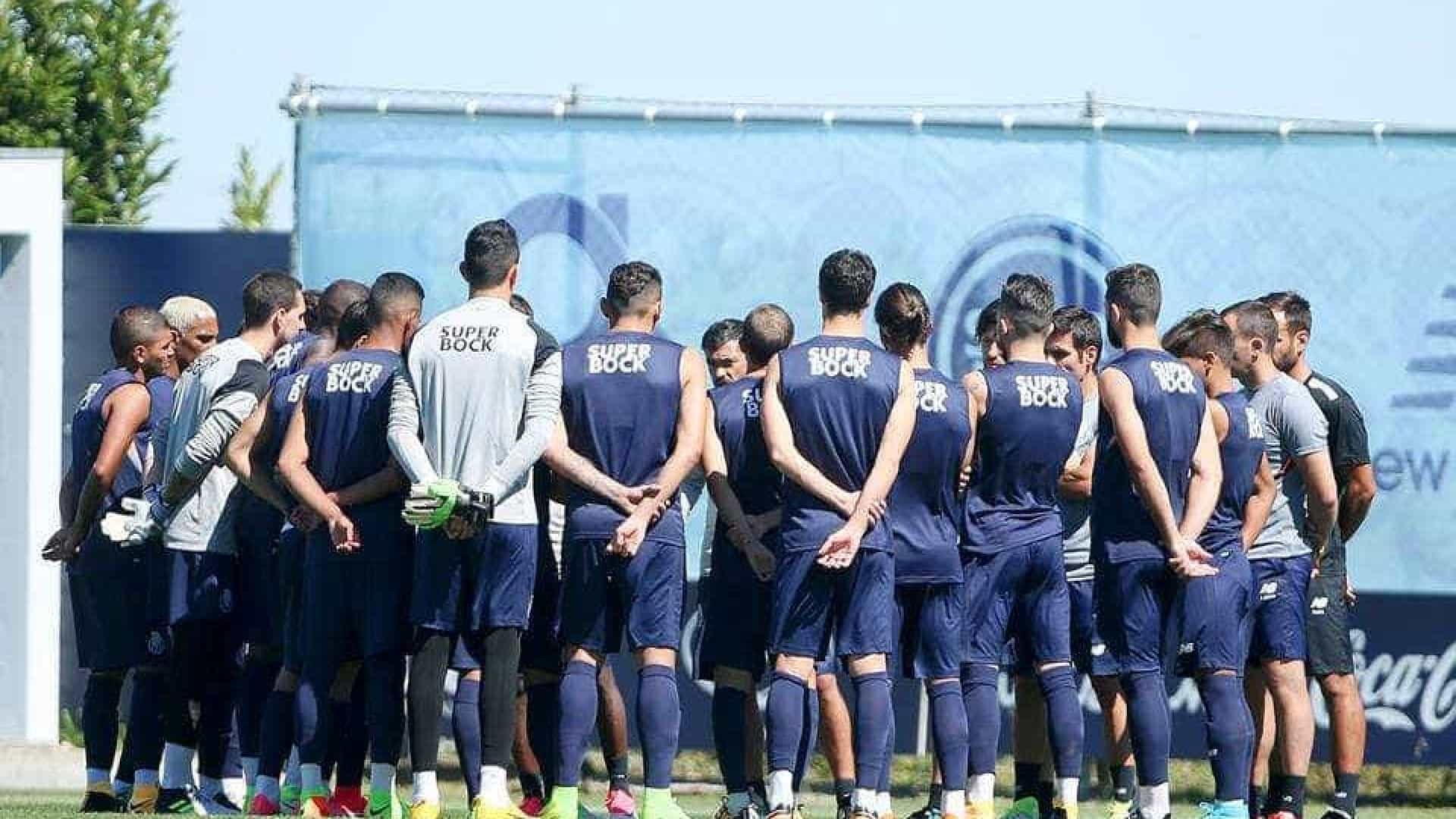 André Pereira novidade no treino — FC Porto