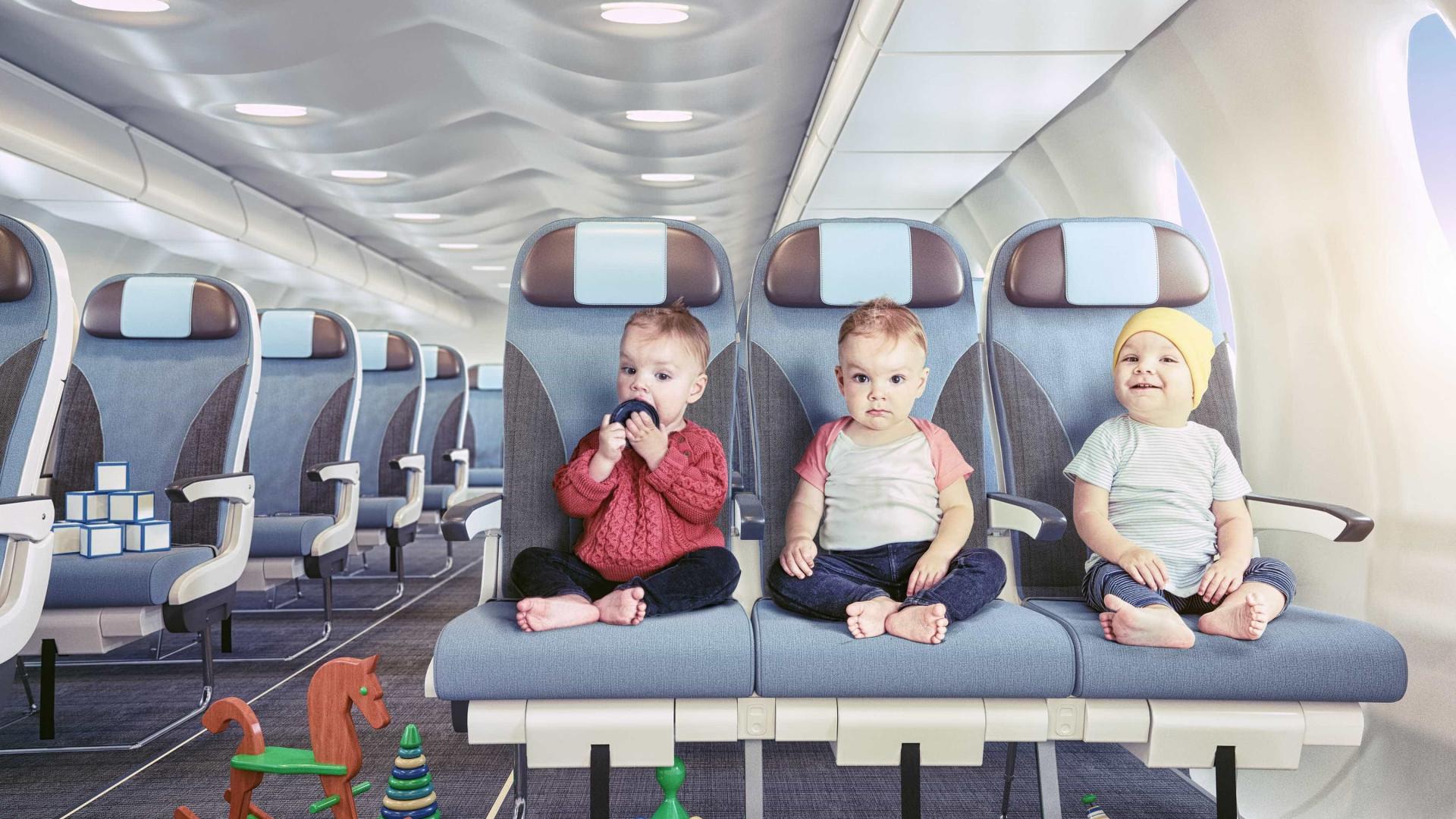 Que nacionalidade tem uma criança que nasce em pleno voo?