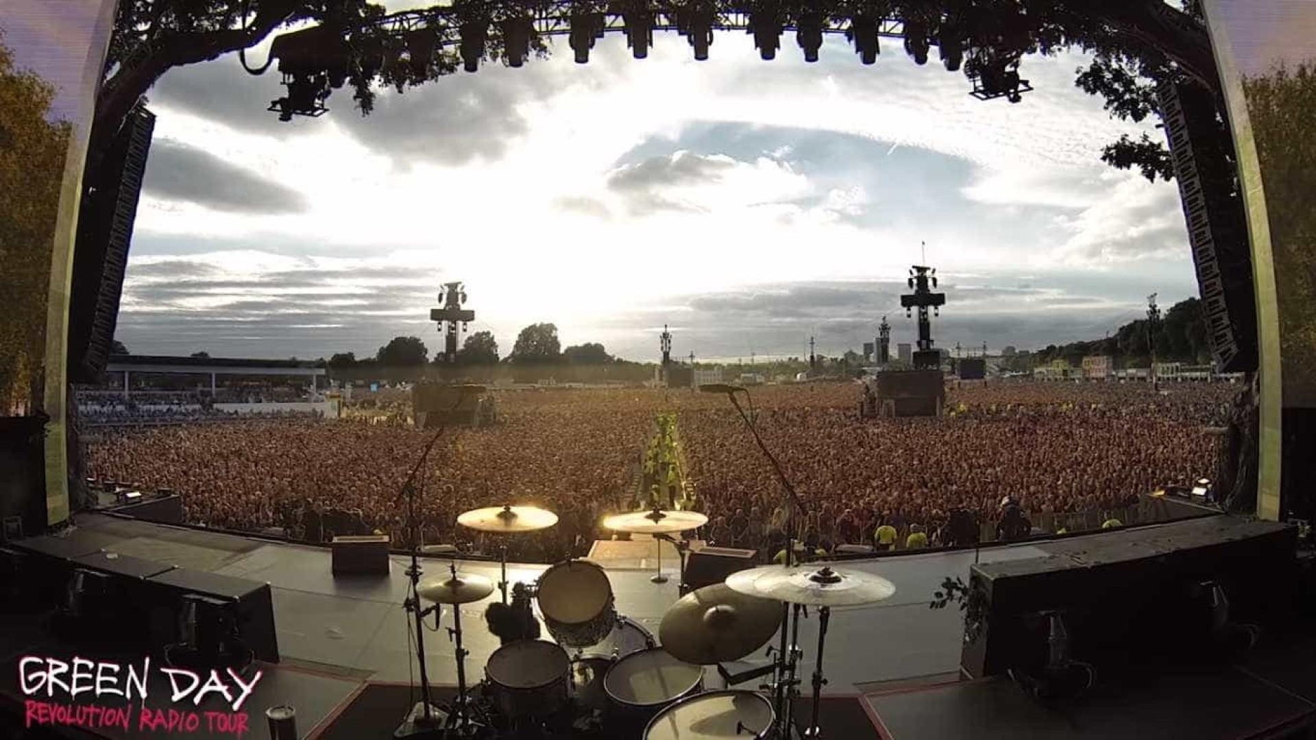 Concerto era dos Green Day, mas milhares cantaram música dos Queen