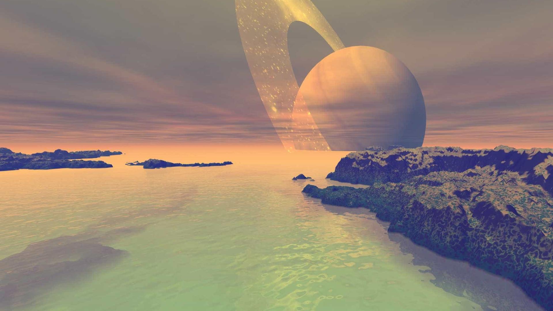 Lua de Saturno é candidata a receber colónia humana