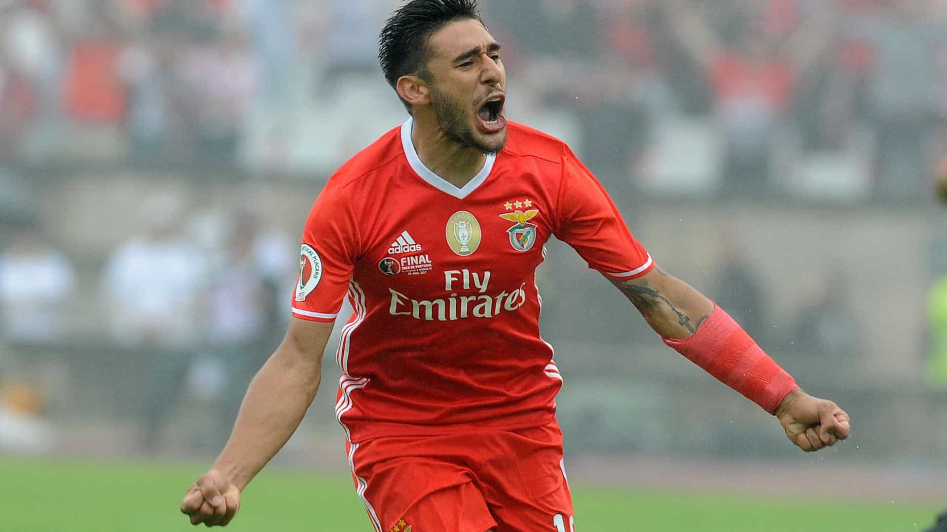 Salvio poderá ser o próximo jogador a abandonar o Benfica