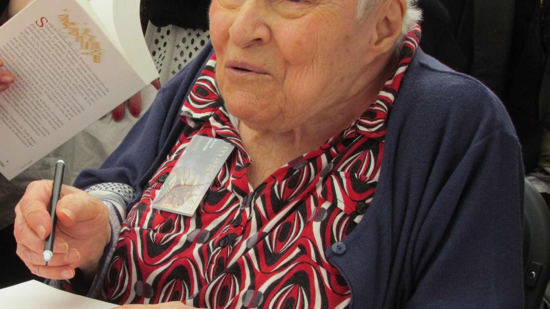 Escritora francesa Anne Golon morreu aos 95 anos