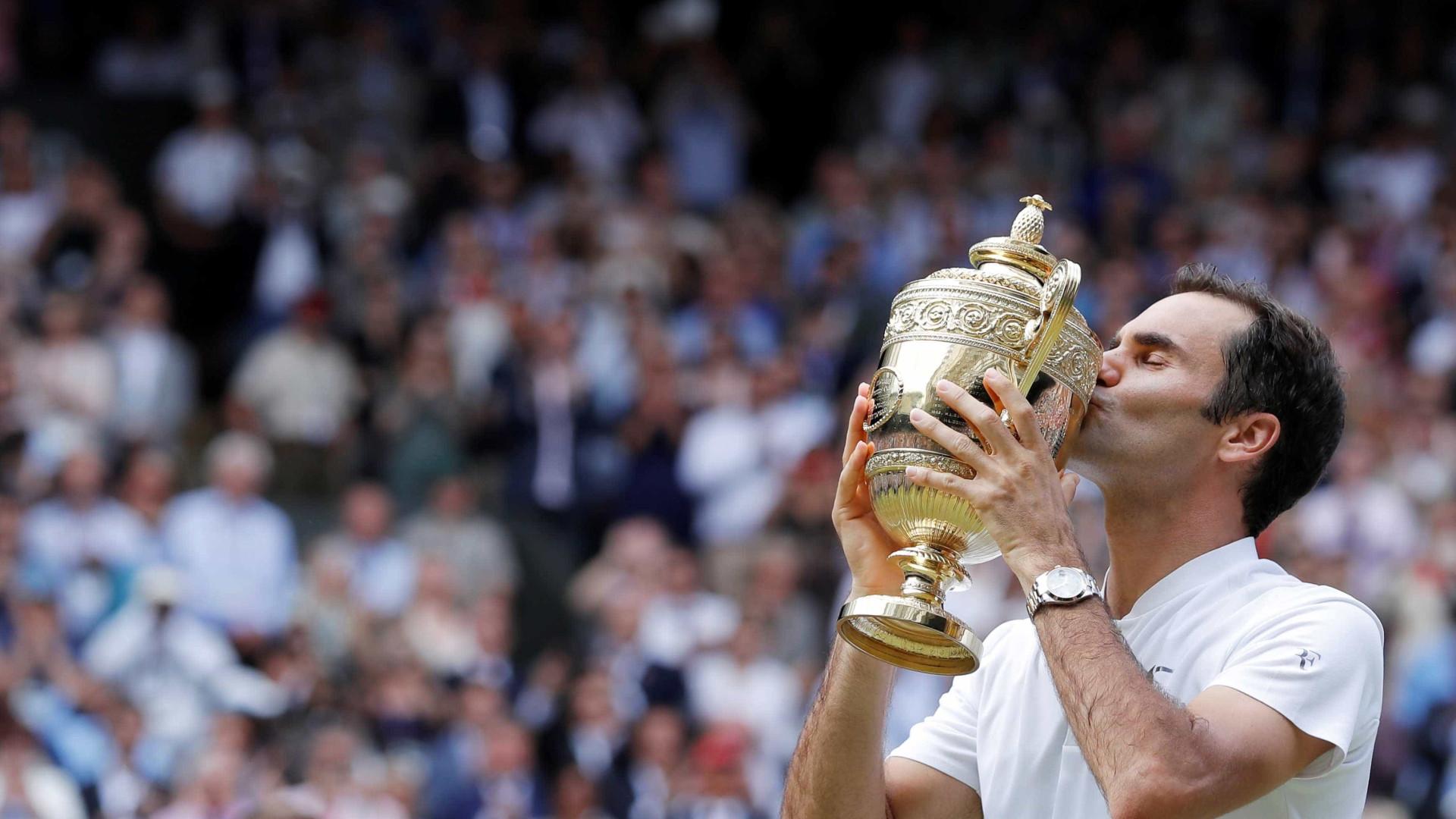 """Federer dedica palavras a Cilic e garante: """"Espero voltar para o ano"""""""