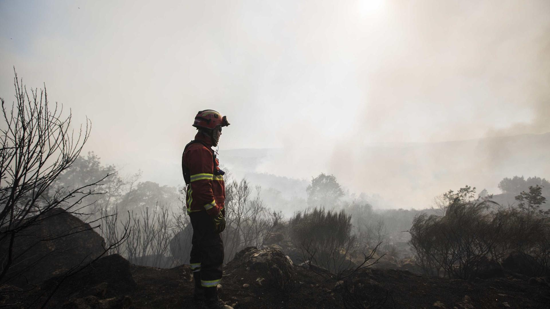 """Situação do incêndio de Alijó está """"francamente melhor"""""""