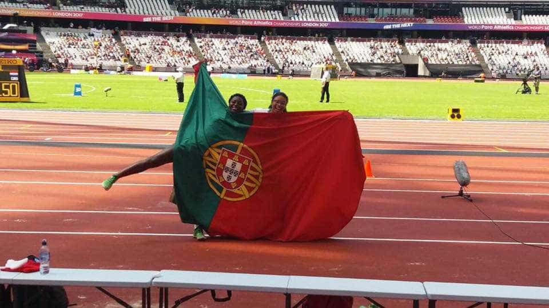 Erica Gomes conquista prata nos Mundiais de atletismo adaptado