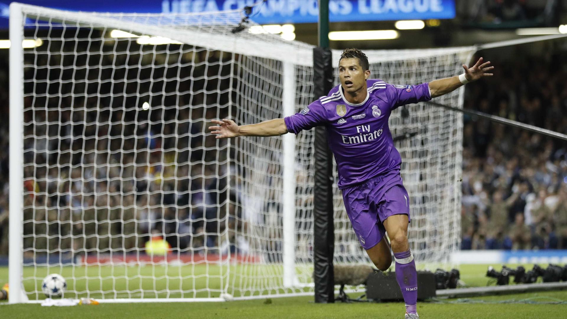 Real Madrid domina candidatos aos prémios dos melhores da Champions