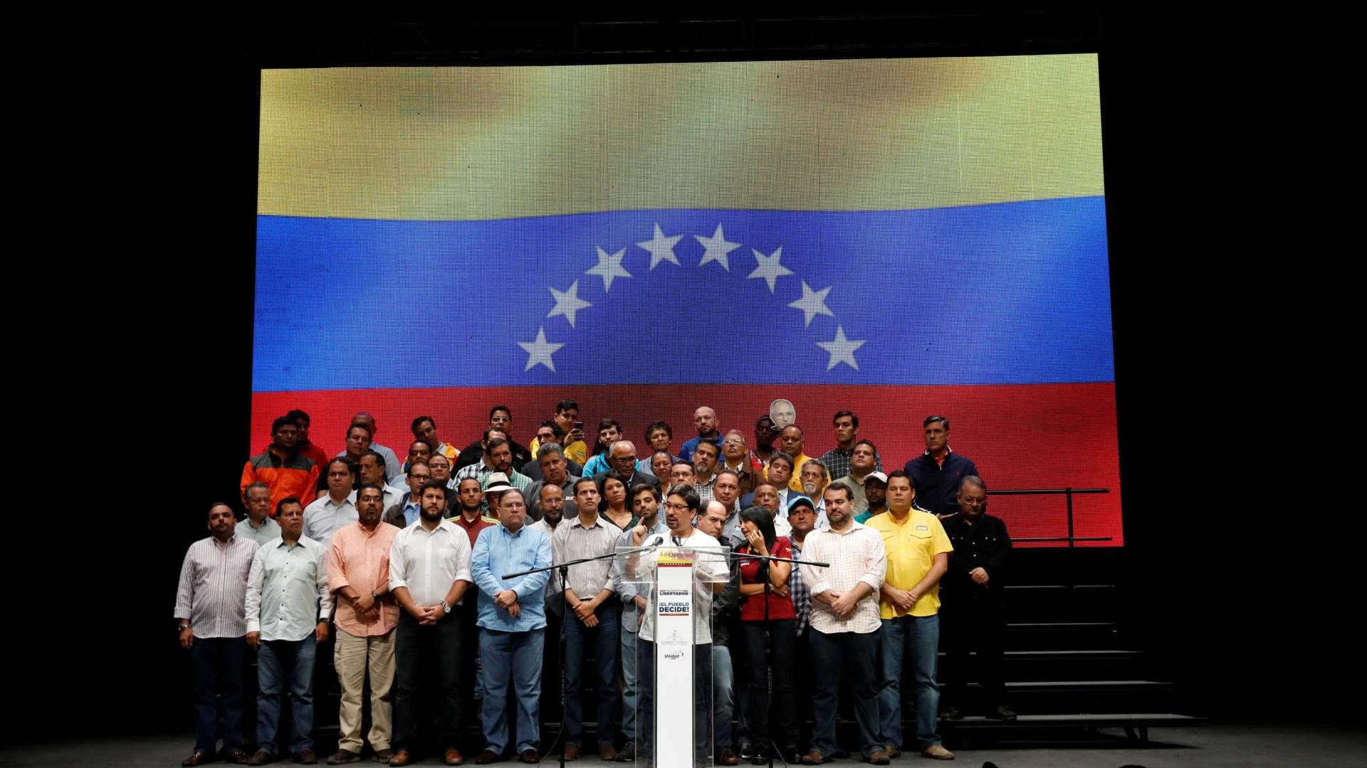 Venezuela: Oposição convoca greve geral de 24 horas para quinta-feira