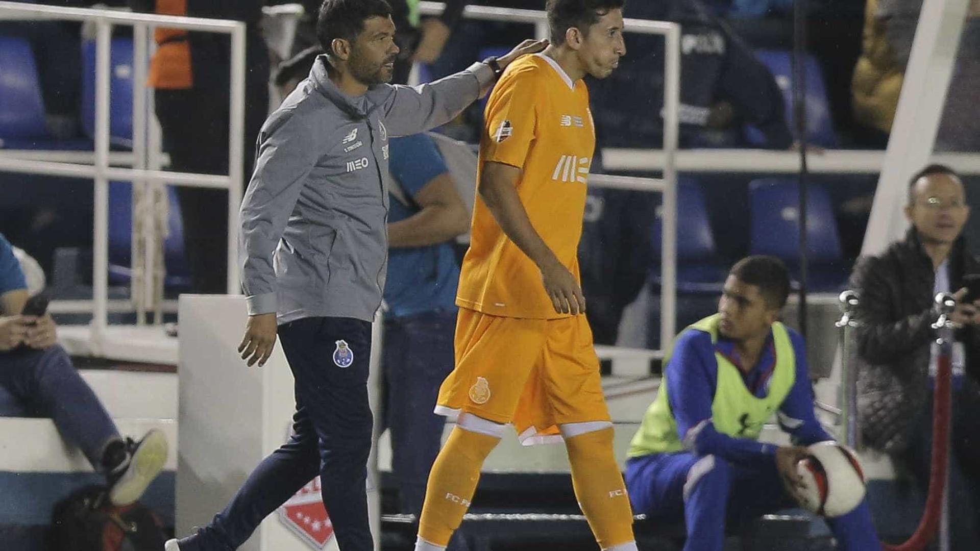FC Porto abre estágio no México com derrota nas grandes penalidades