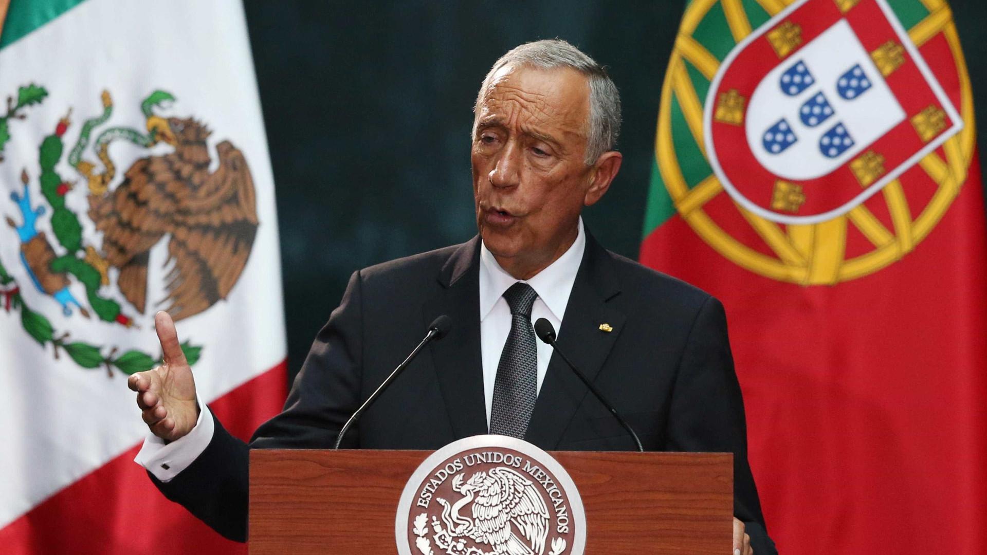 """Portugal é """"um grande país, sempre à altura das circunstâncias"""""""