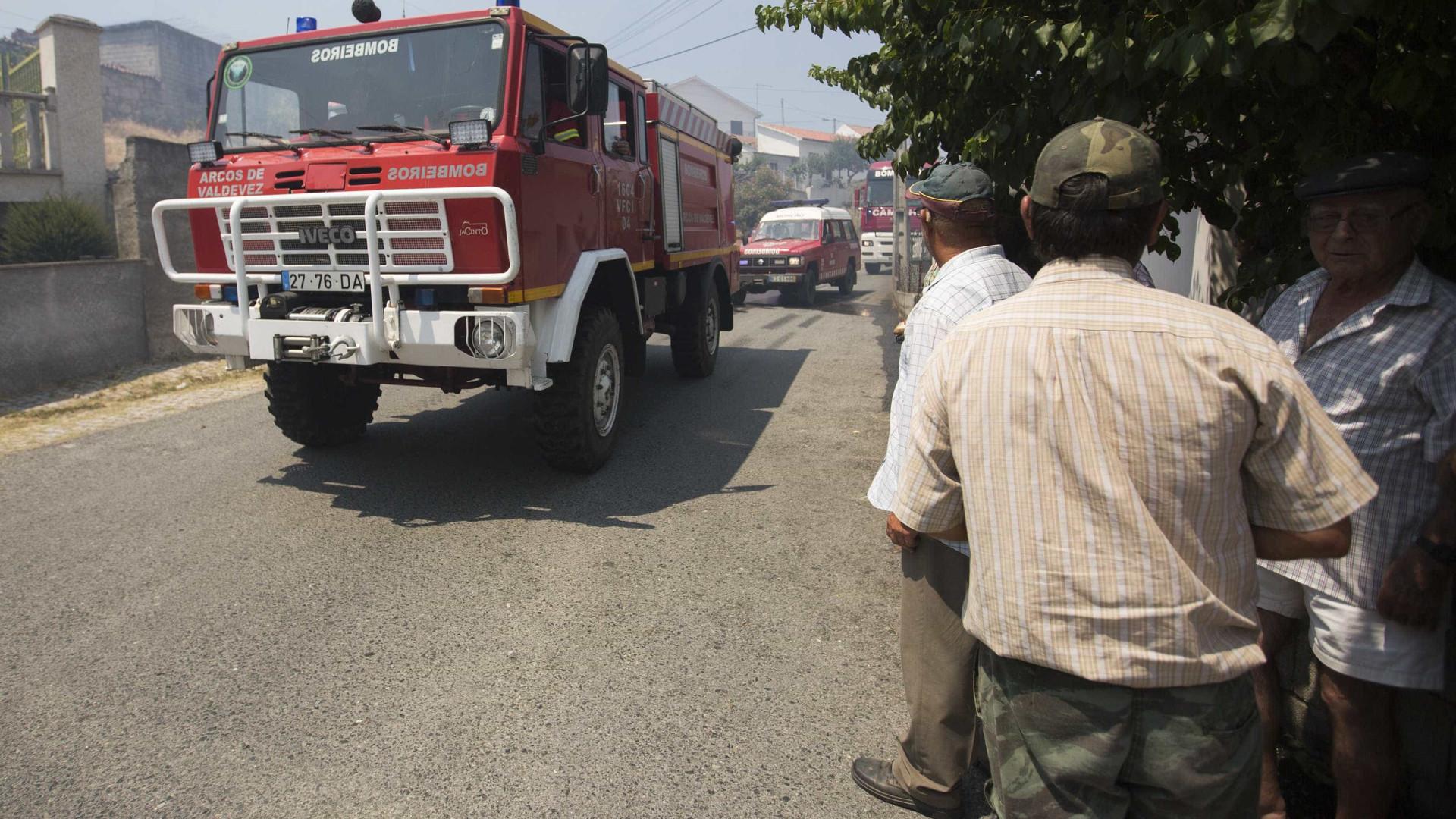 Fogo em Oleiros obrigou à evacuação de alguns lugares por precaução