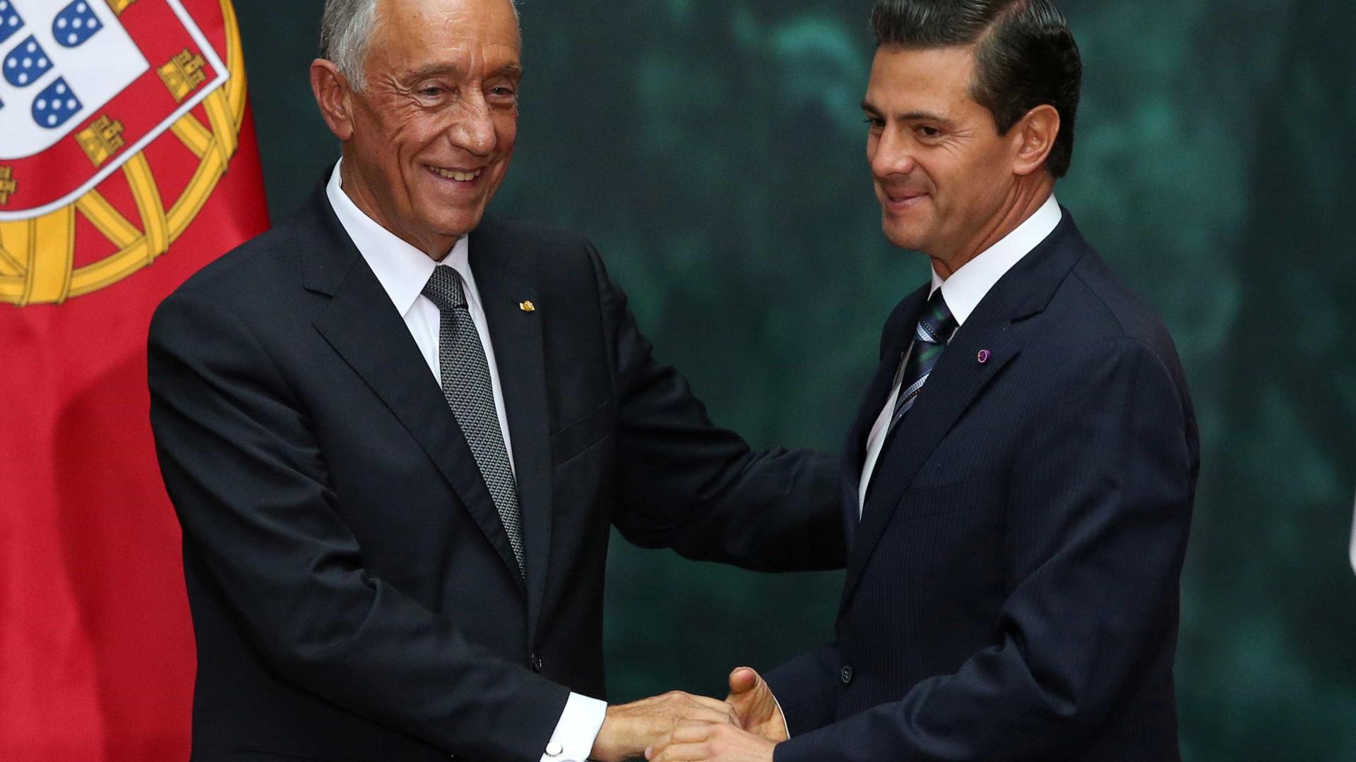 """Visita ao México """"foi muito proveitosa porque não se falou só em teorias"""""""
