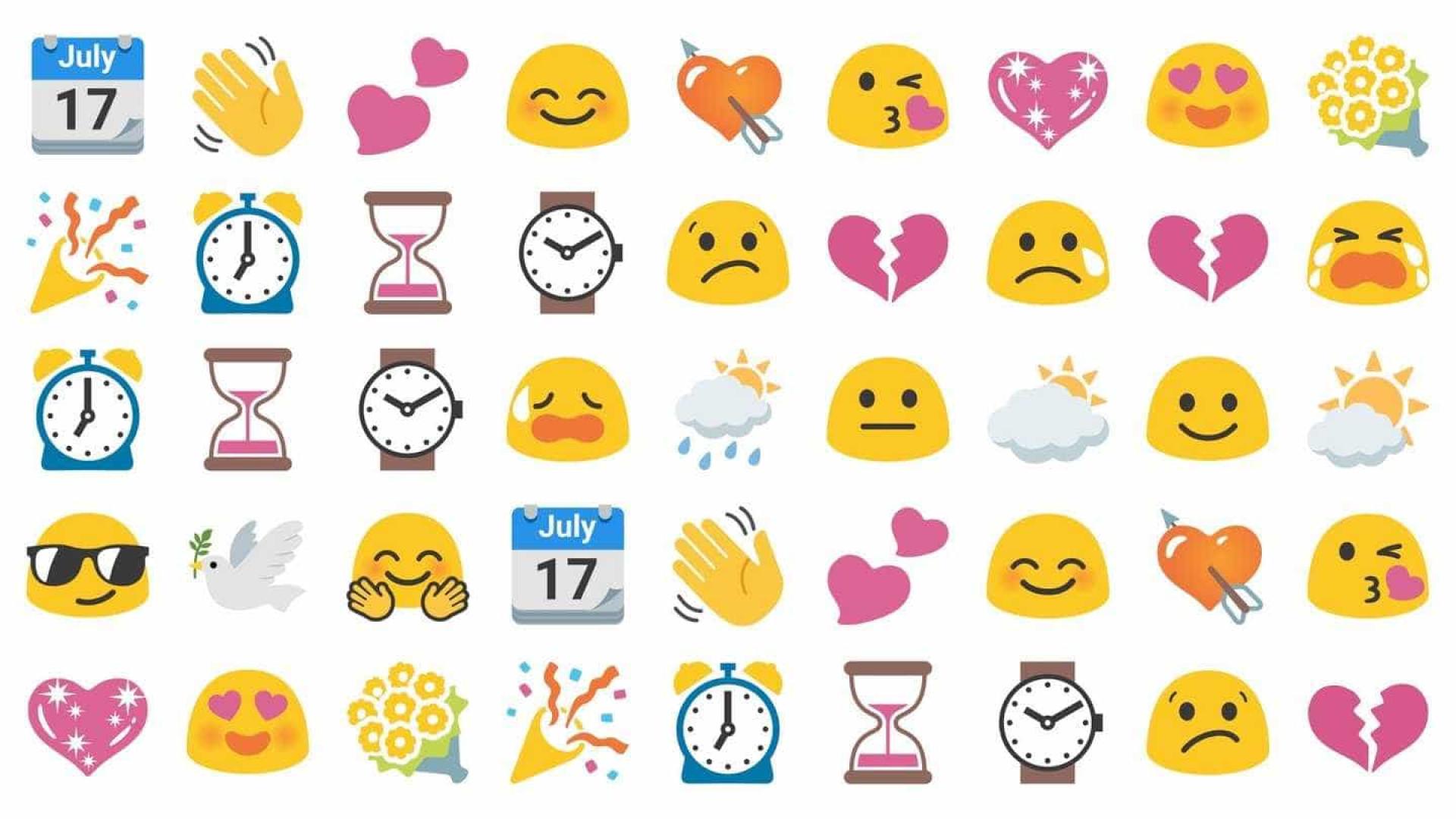 Não consegue esquecer os antigos emojis da Google? Há uma forma de os ter