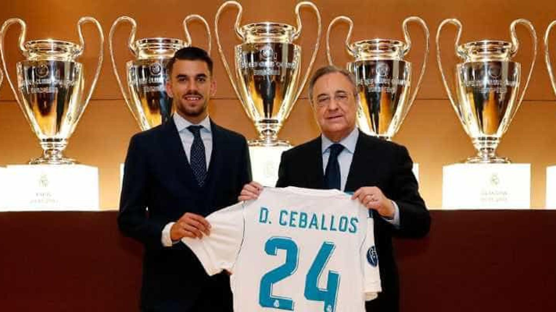 Real Madrid apresenta Ceballos: