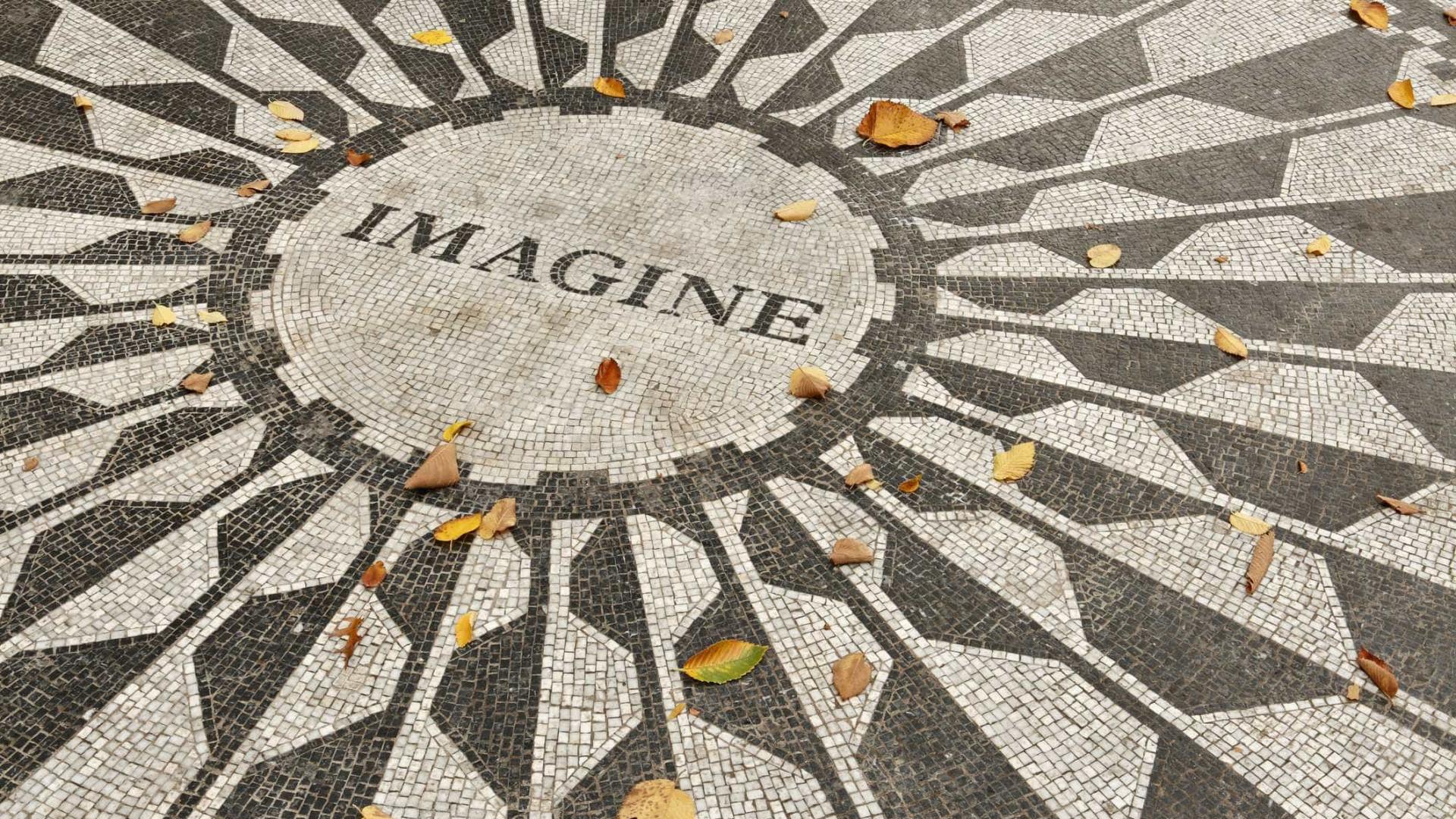 Canção 'Imagine', de John Lennon, revisitada em livro infantil