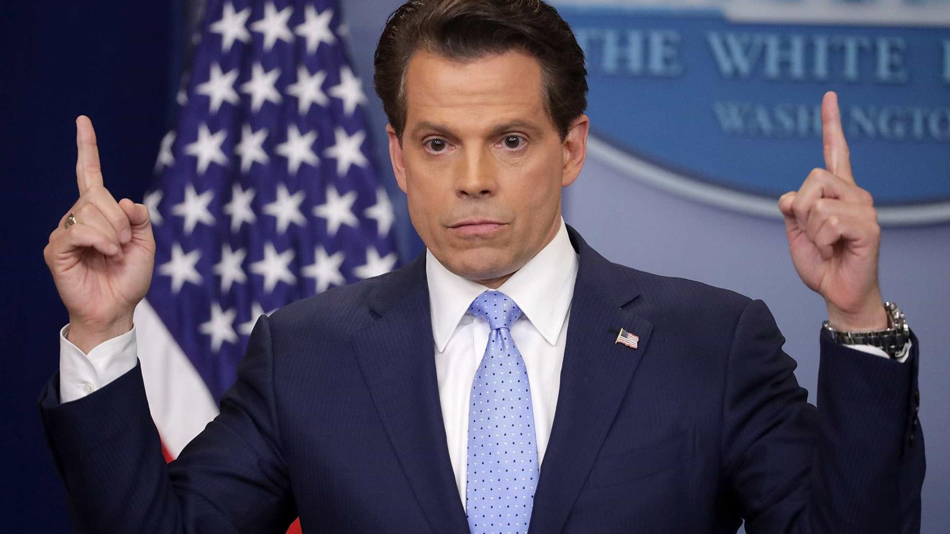 """""""Na Casa Branca, há quem queira correr com Trump"""", diz Scaramucci"""