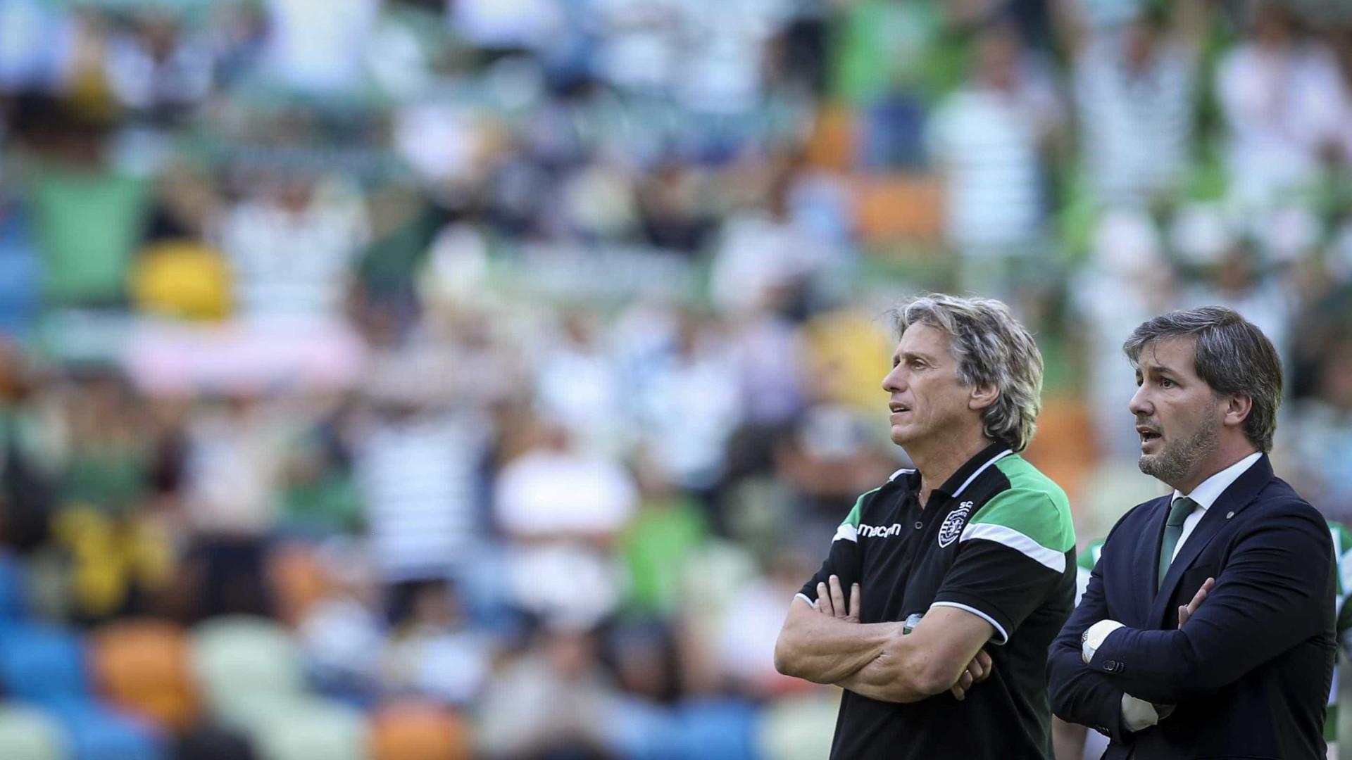 Sporting perde amigável com o Vitória de Guimarães