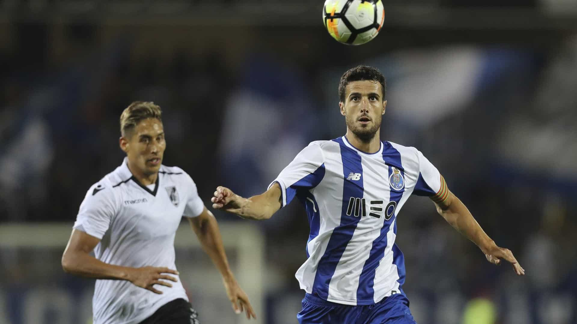 Marcano está tranquilo e feliz no FC Porto