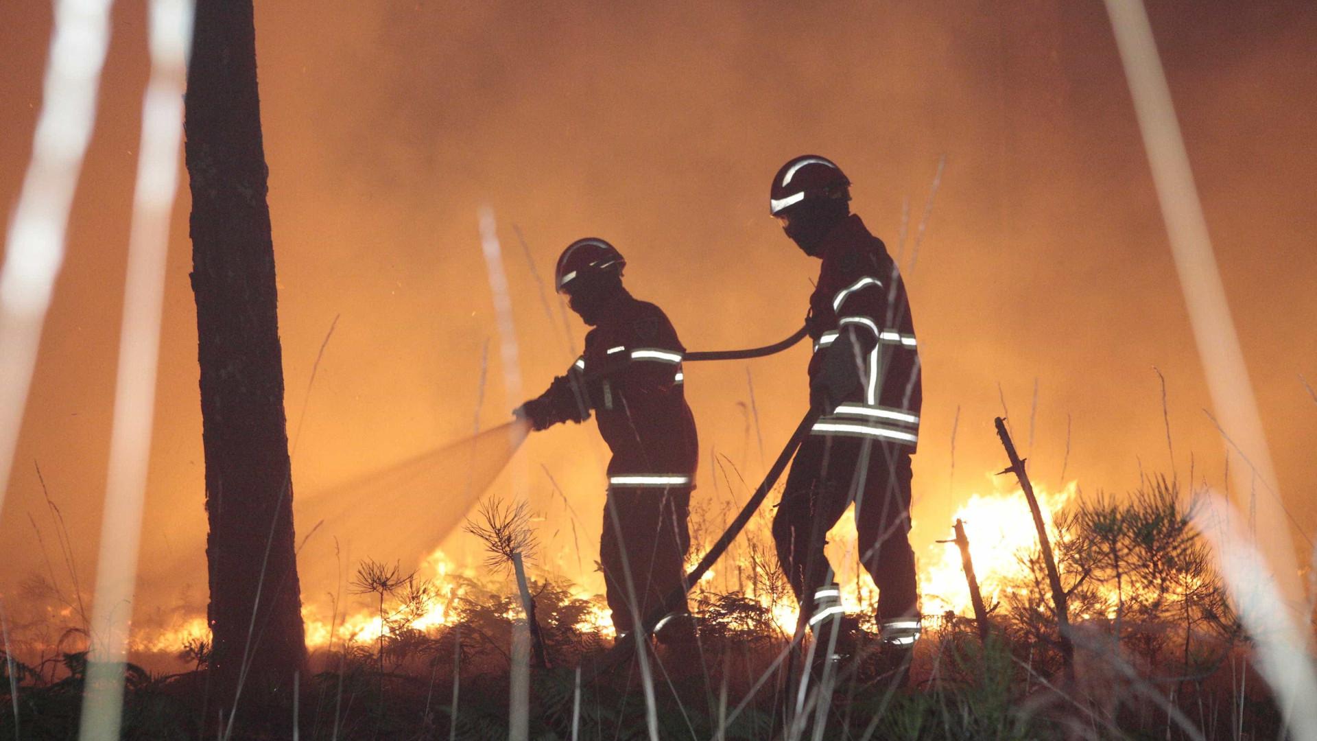 Mais de 70 concelhos do continente em risco 'máximo' de incêndio