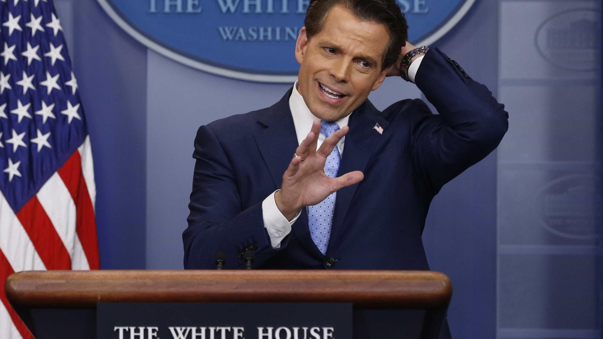 'Furacão' Scaramucci que passou pela Casa Branca vai dar entrevista