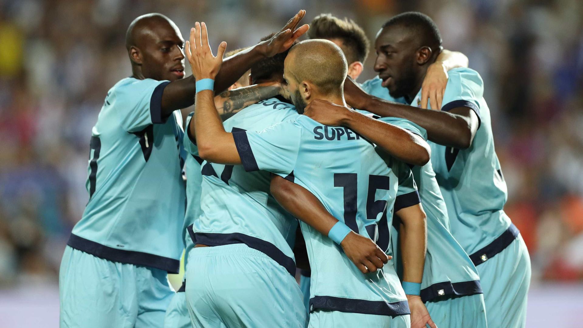 FC Porto vence (5-0) Lusitano de Vila Real de Santo António