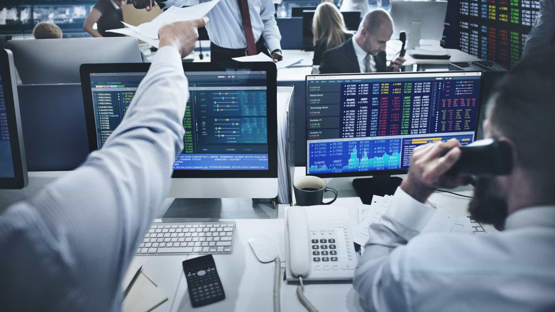 PSI20 sobe 0,20% e bolsas europeias terminam em queda