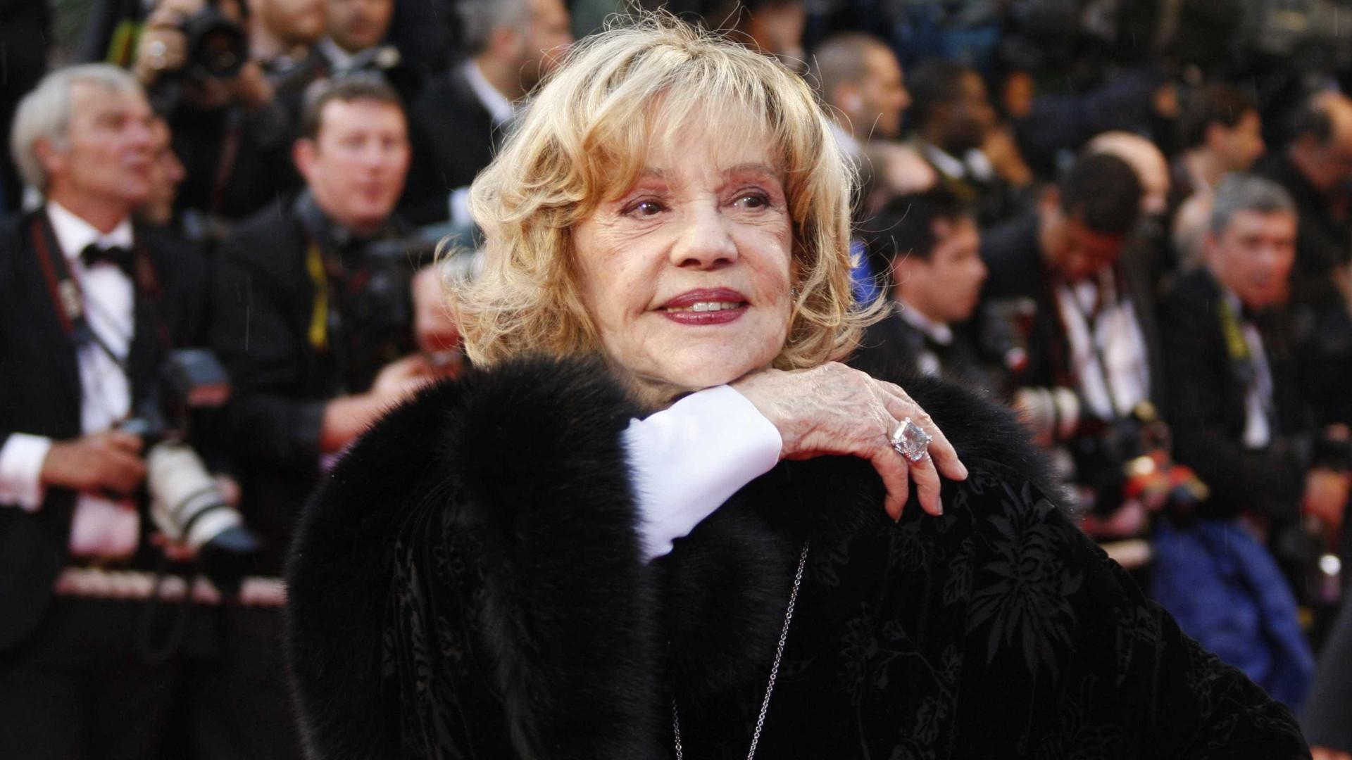 Morreu Jeanne Moreau. Francesa actuou em mais de 100 filmes