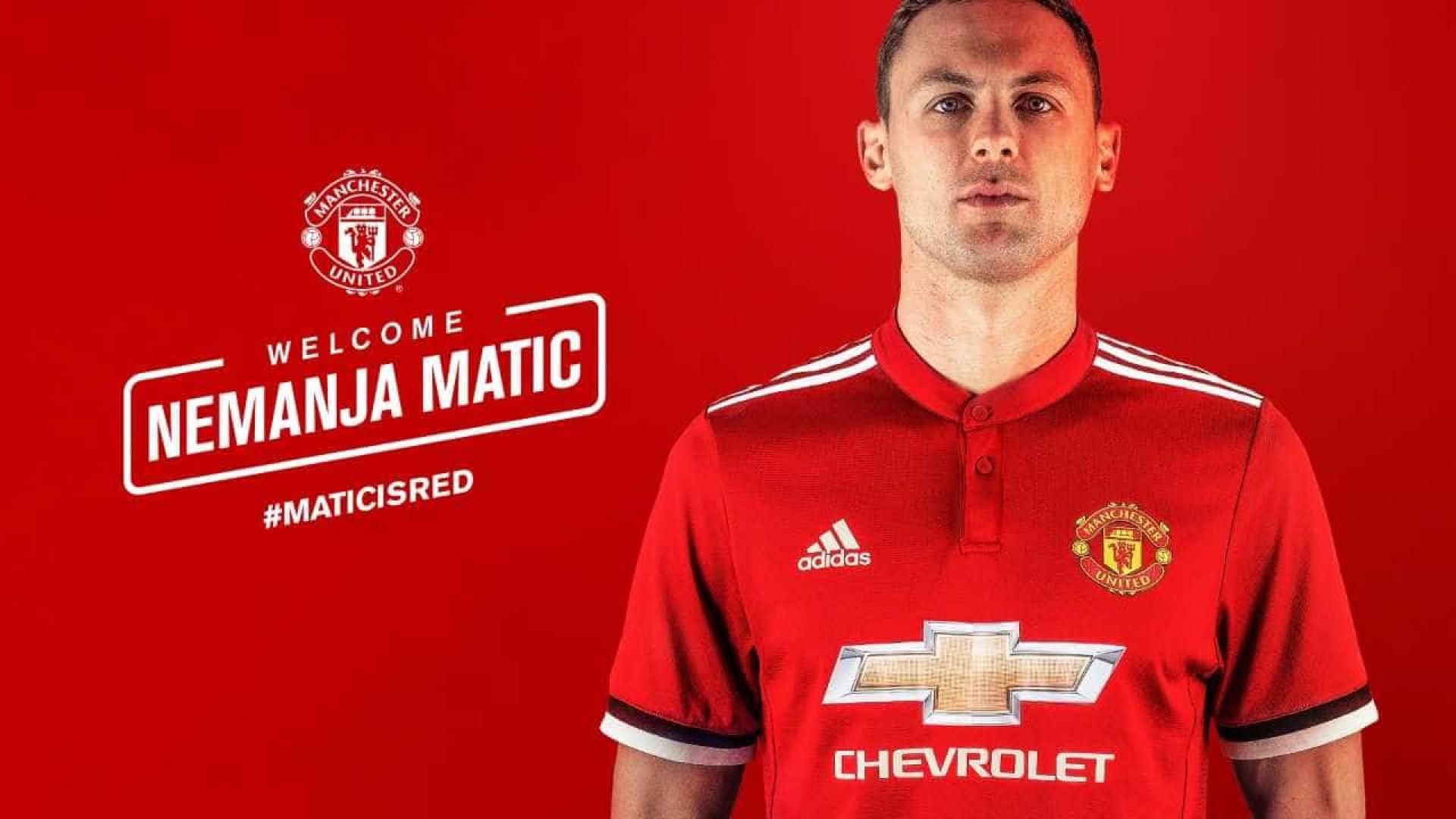 Oficial: Matic é o mais recente reforço de Mourinho